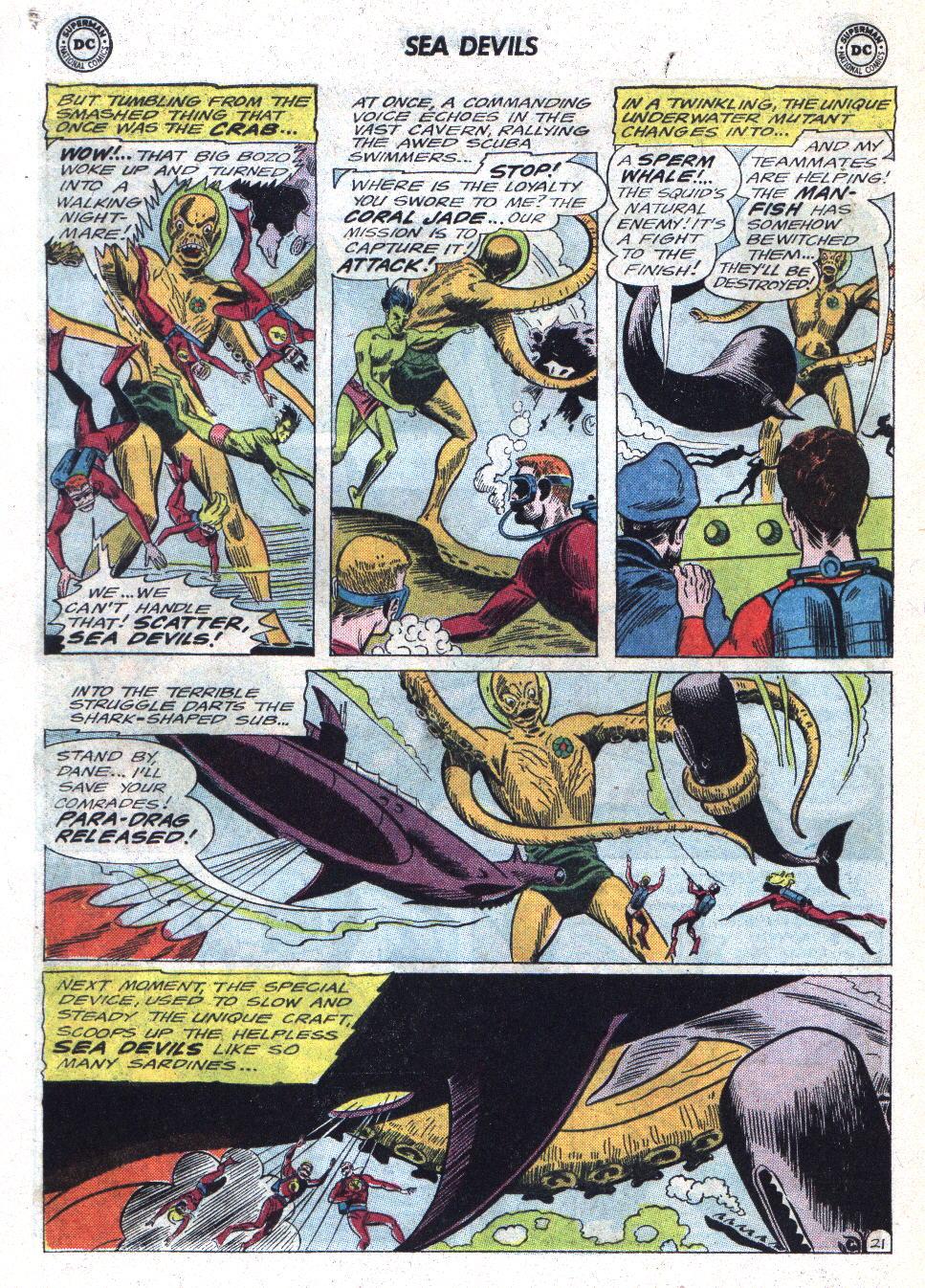 Read online Sea Devils comic -  Issue #22 - 28