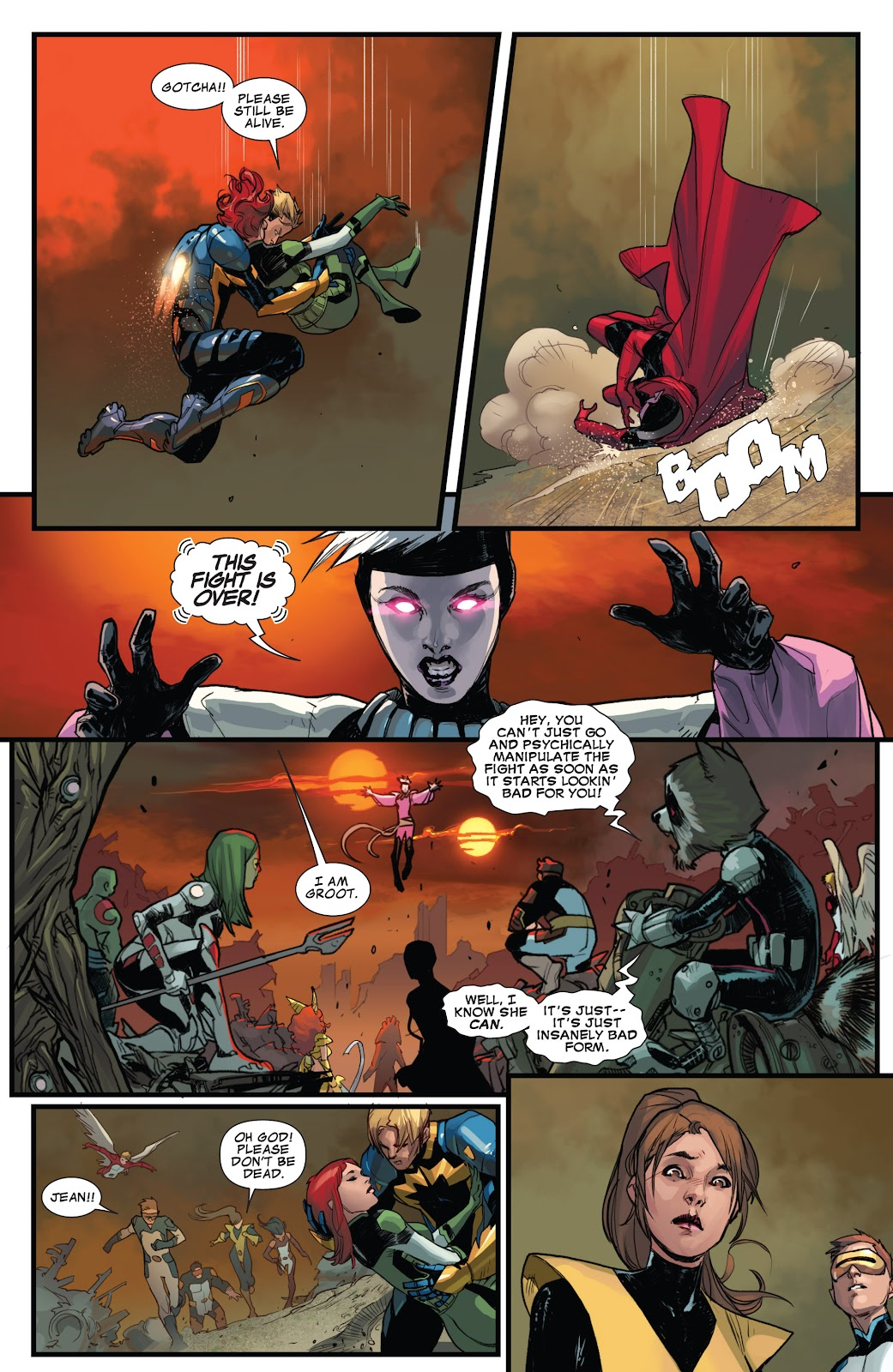 Guardians of the Galaxy/All-New X-Men: The Trial of Jean Grey issue TPB - Page 103