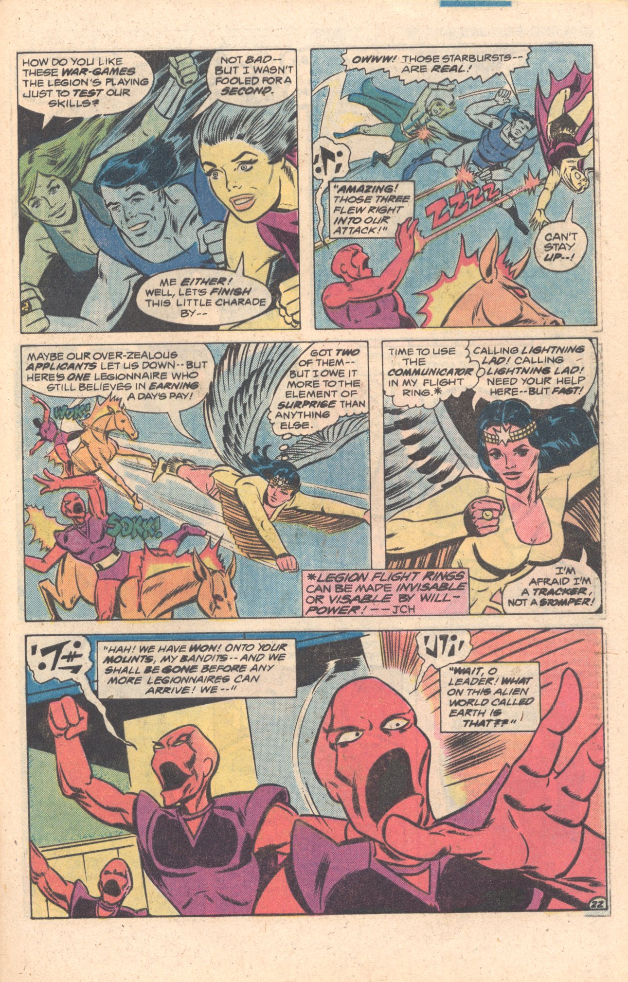 Legion of Super-Heroes (1980) 272 Page 22