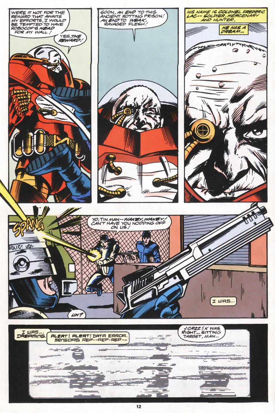 Read online Robocop (1990) comic -  Issue #14 - 9