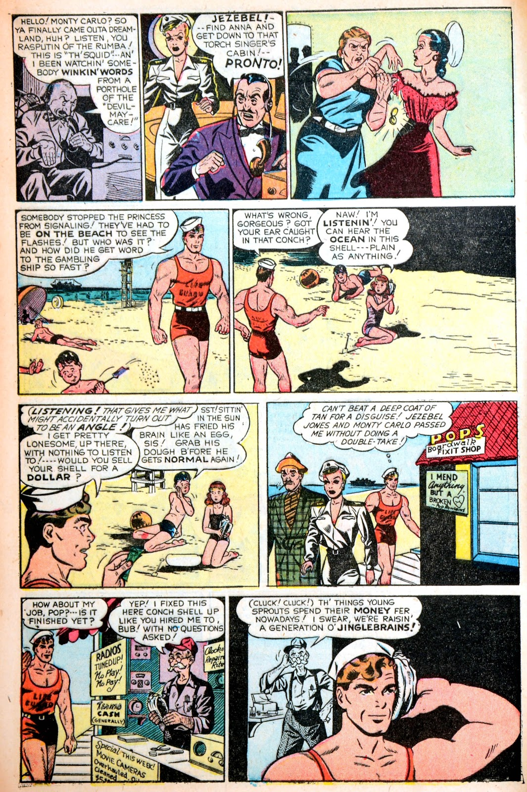Read online Famous Funnies comic -  Issue #195 - 8