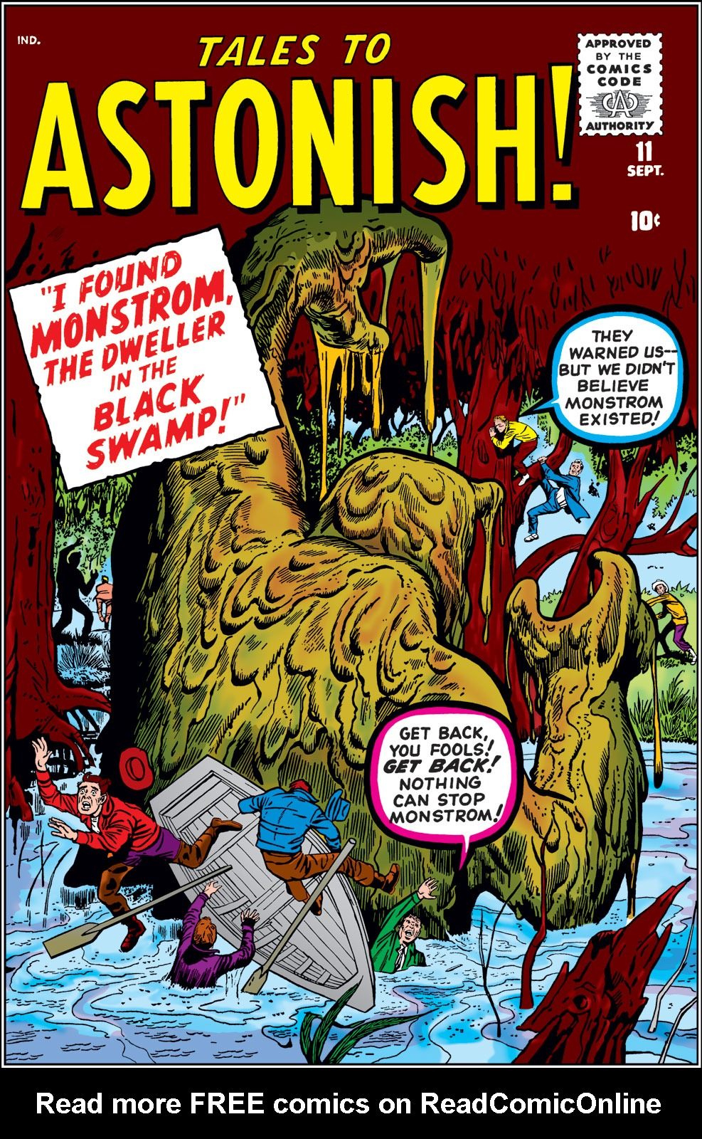 Tales to Astonish (1959) issue 11 - Page 1