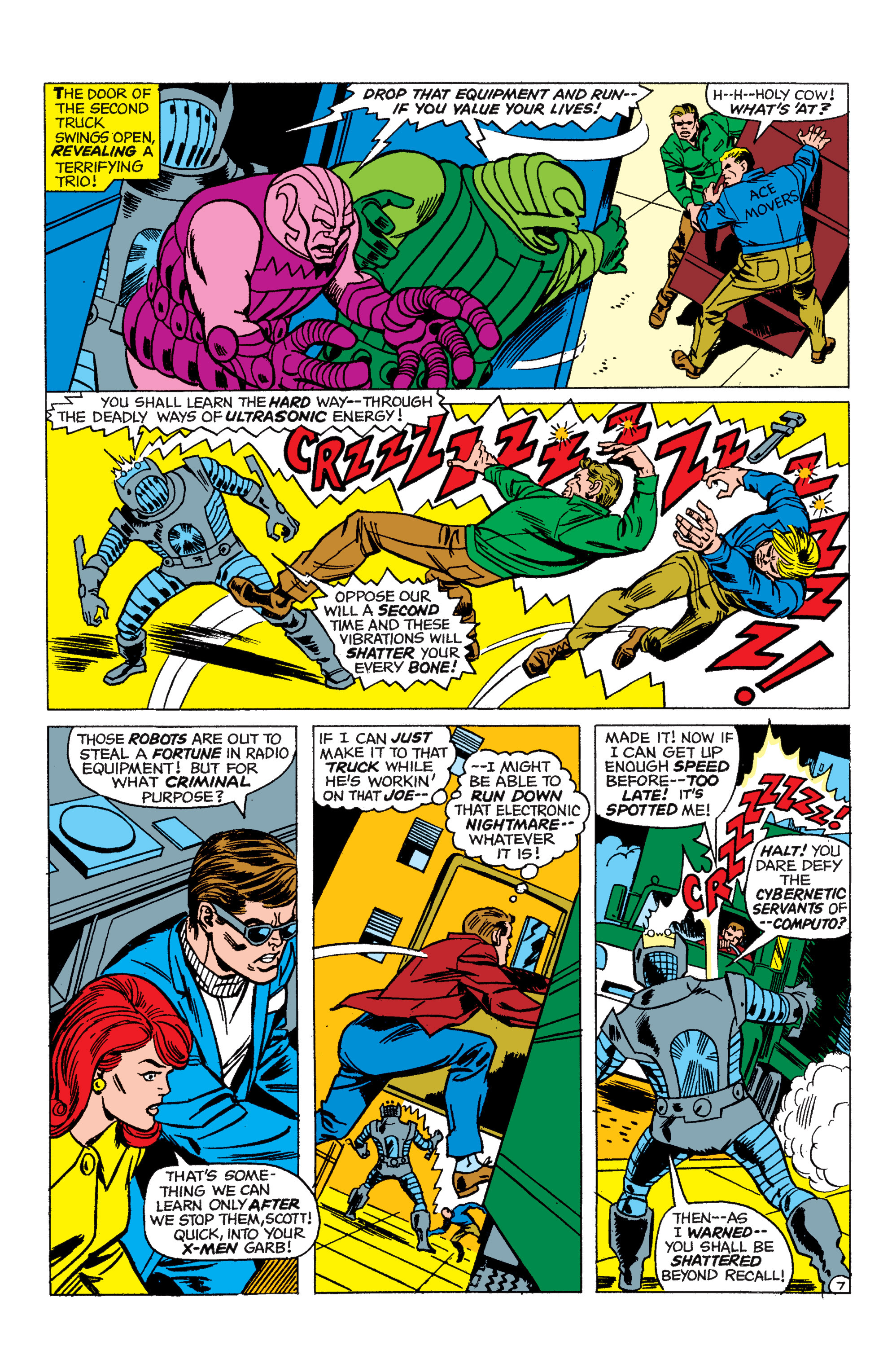 Read online Uncanny X-Men (1963) comic -  Issue #48 - 8