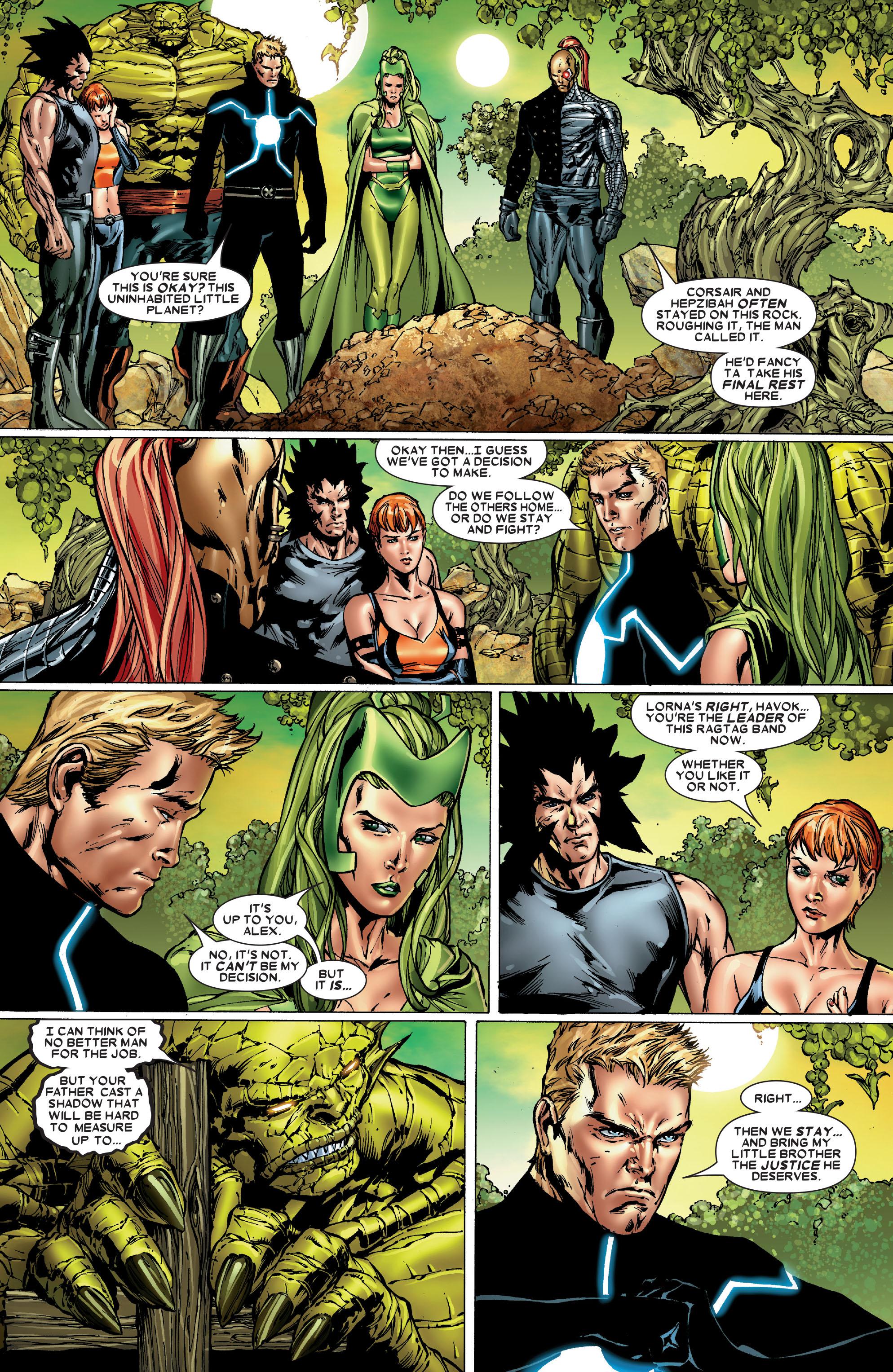 Read online Uncanny X-Men (1963) comic -  Issue #486 - 23