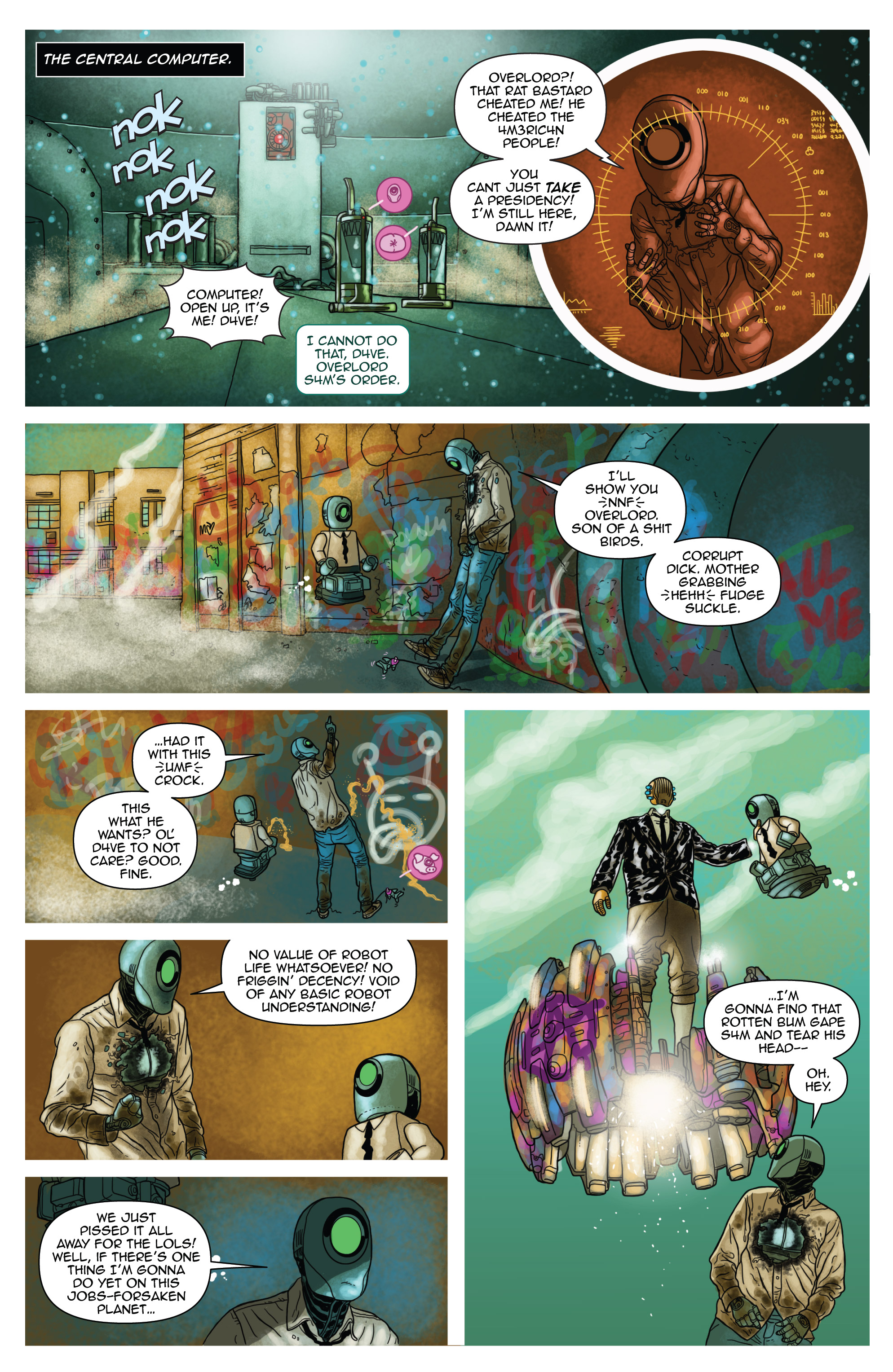 Read online D4VEocracy comic -  Issue #4 - 11