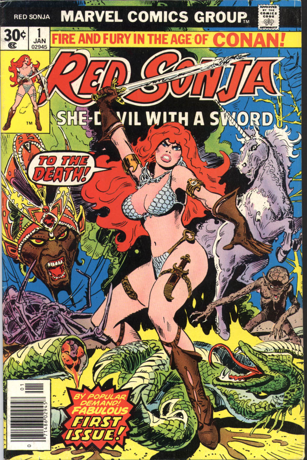 Red Sonja (1977) issue 1 - Page 1