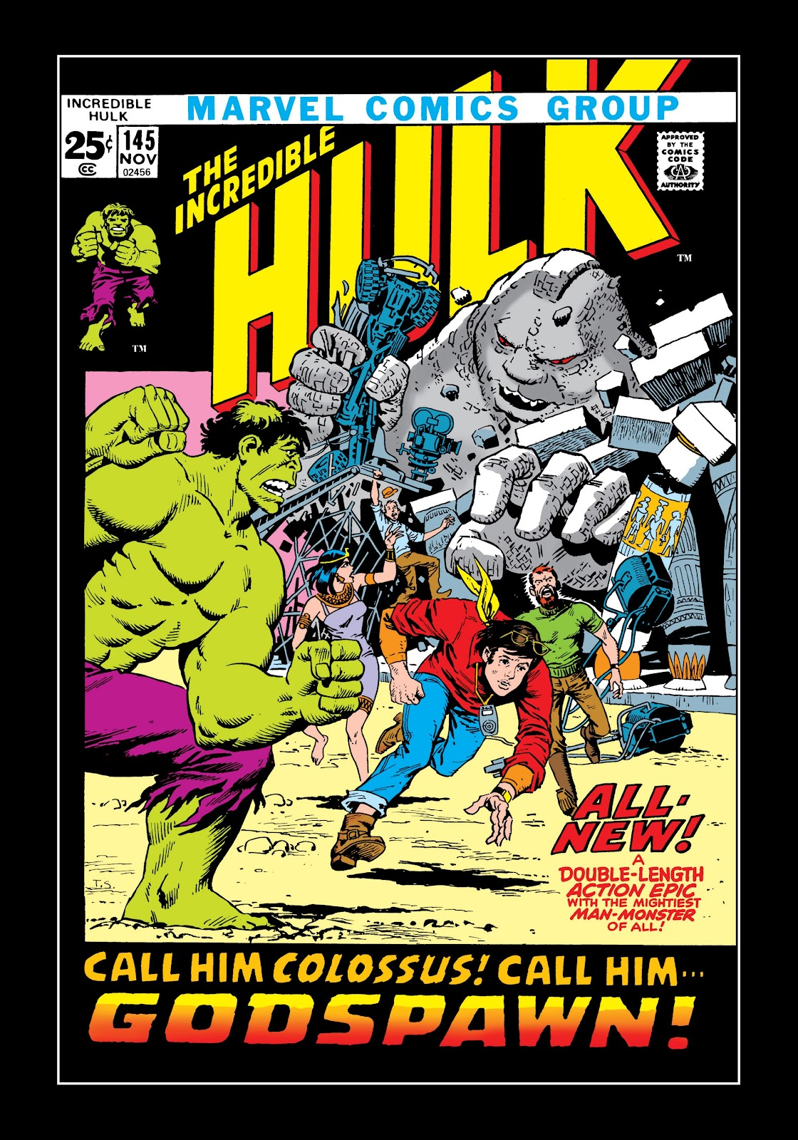 Read online Marvel Masterworks: The Incredible Hulk comic -  Issue # TPB 8 (Part 1) - 7