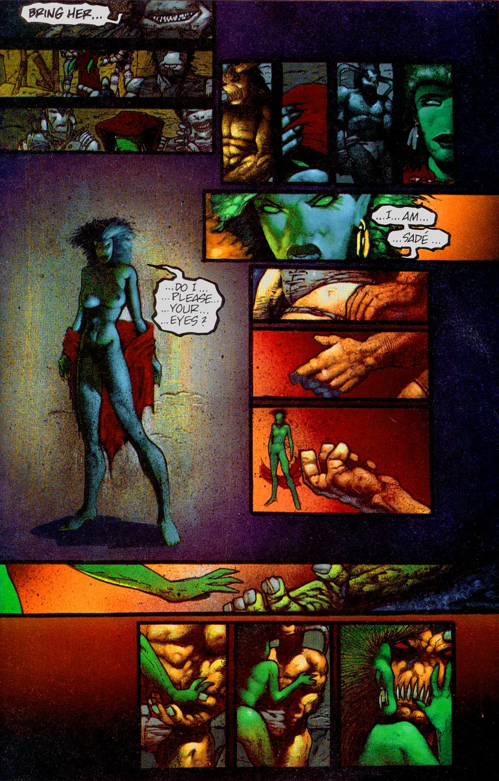 Read online Melting Pot comic -  Issue #2 - 14