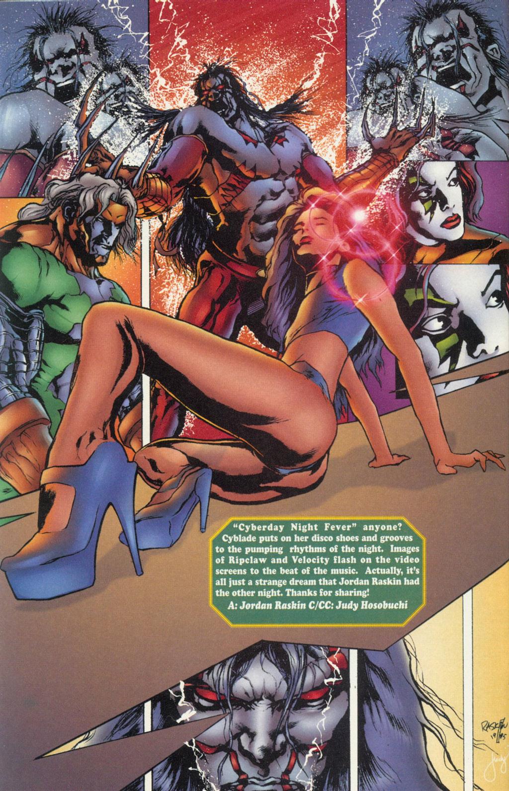Read online Ballistic Studios Swimsuit Special comic -  Issue #1 - 12