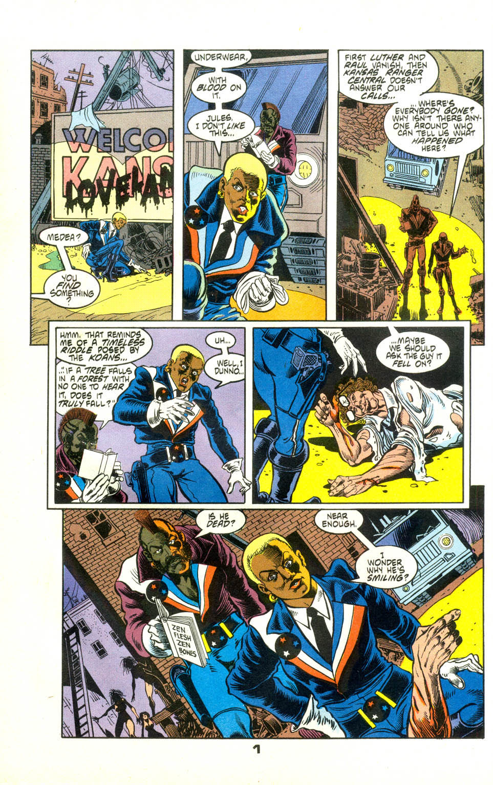 Read online American Flagg! comic -  Issue #24 - 23