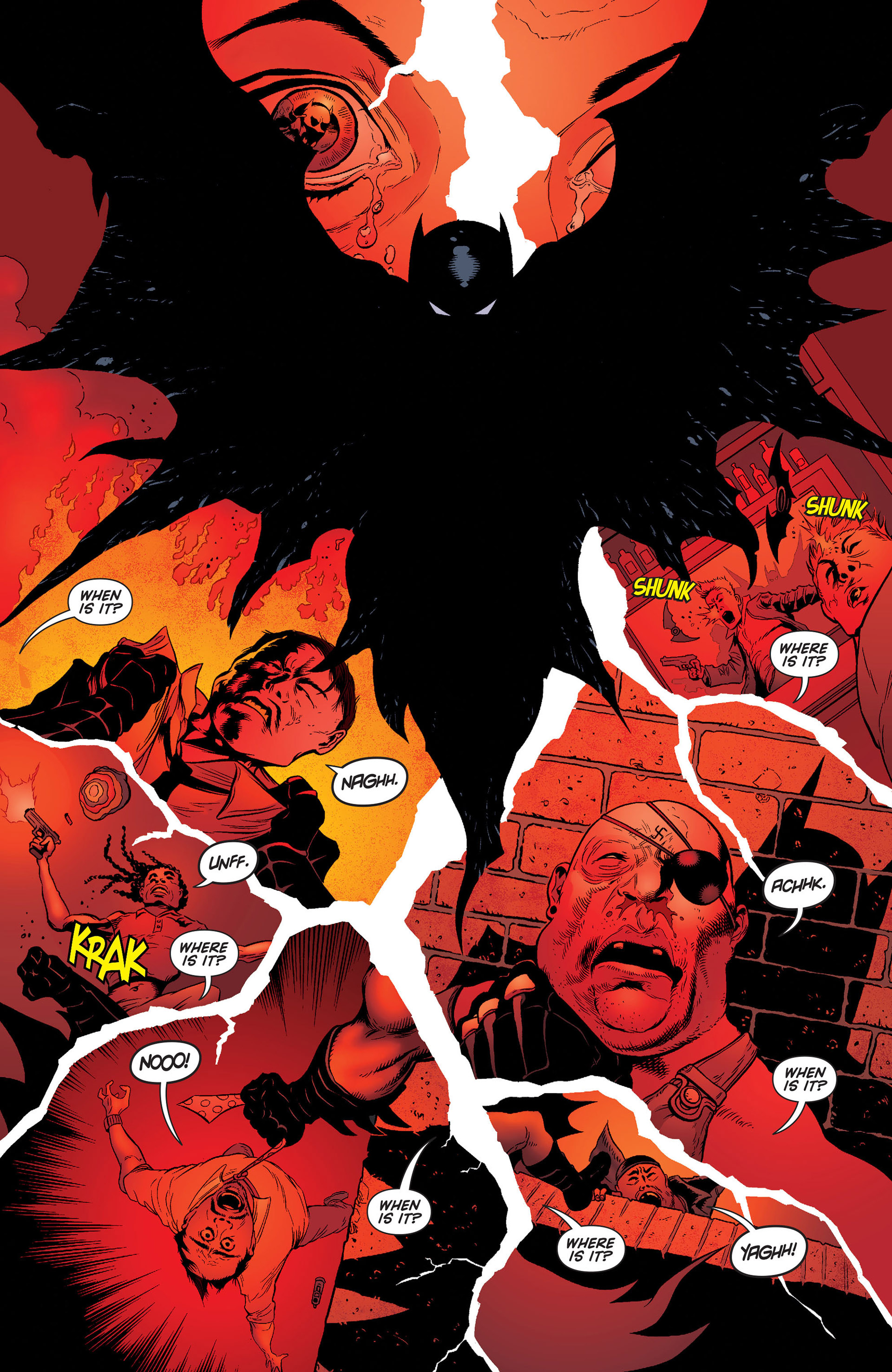 Read online Batman and Robin (2011) comic -  Issue #24 - Batman and Two-Face - 5