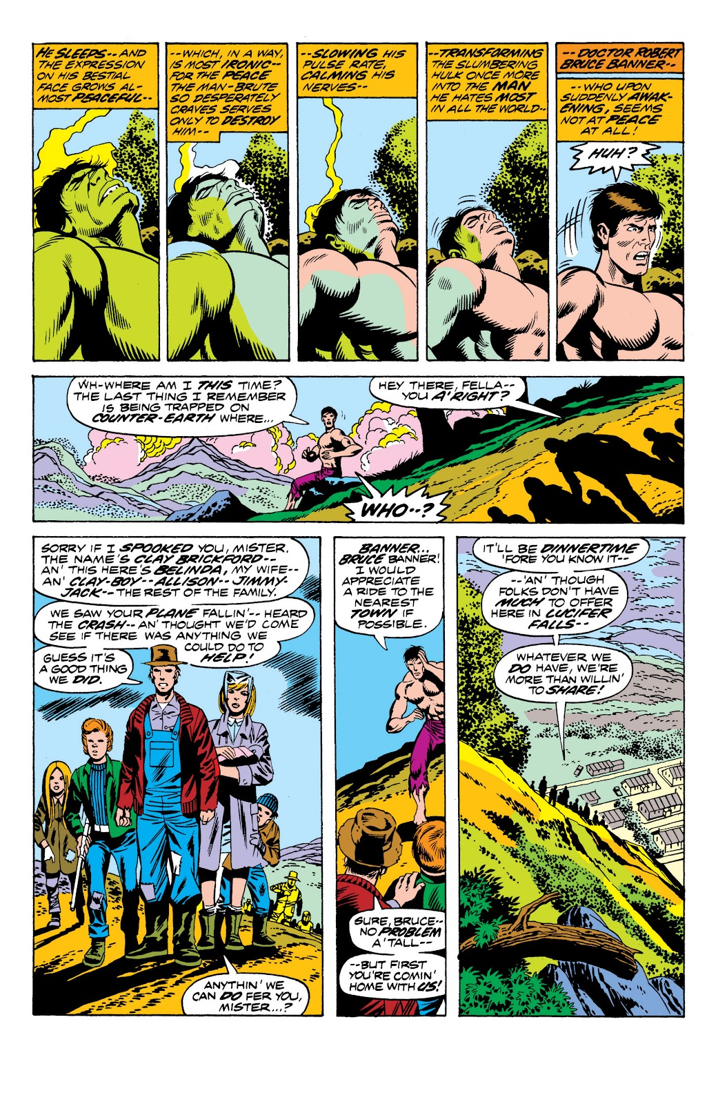 Read online Marvel Masterworks: The Incredible Hulk comic -  Issue # TPB 10 (Part 2) - 70