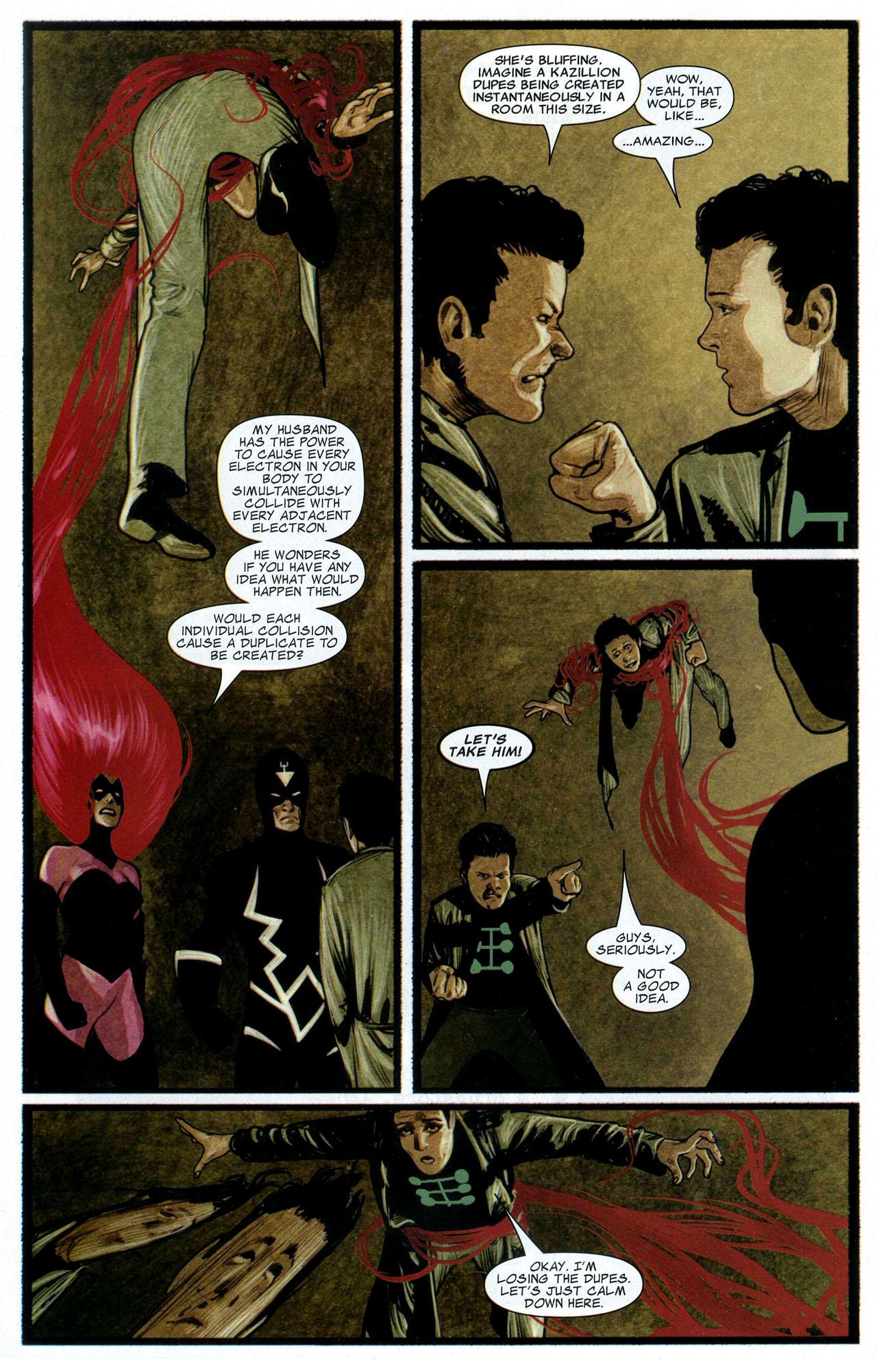 Read online Silent War comic -  Issue #3 - 12