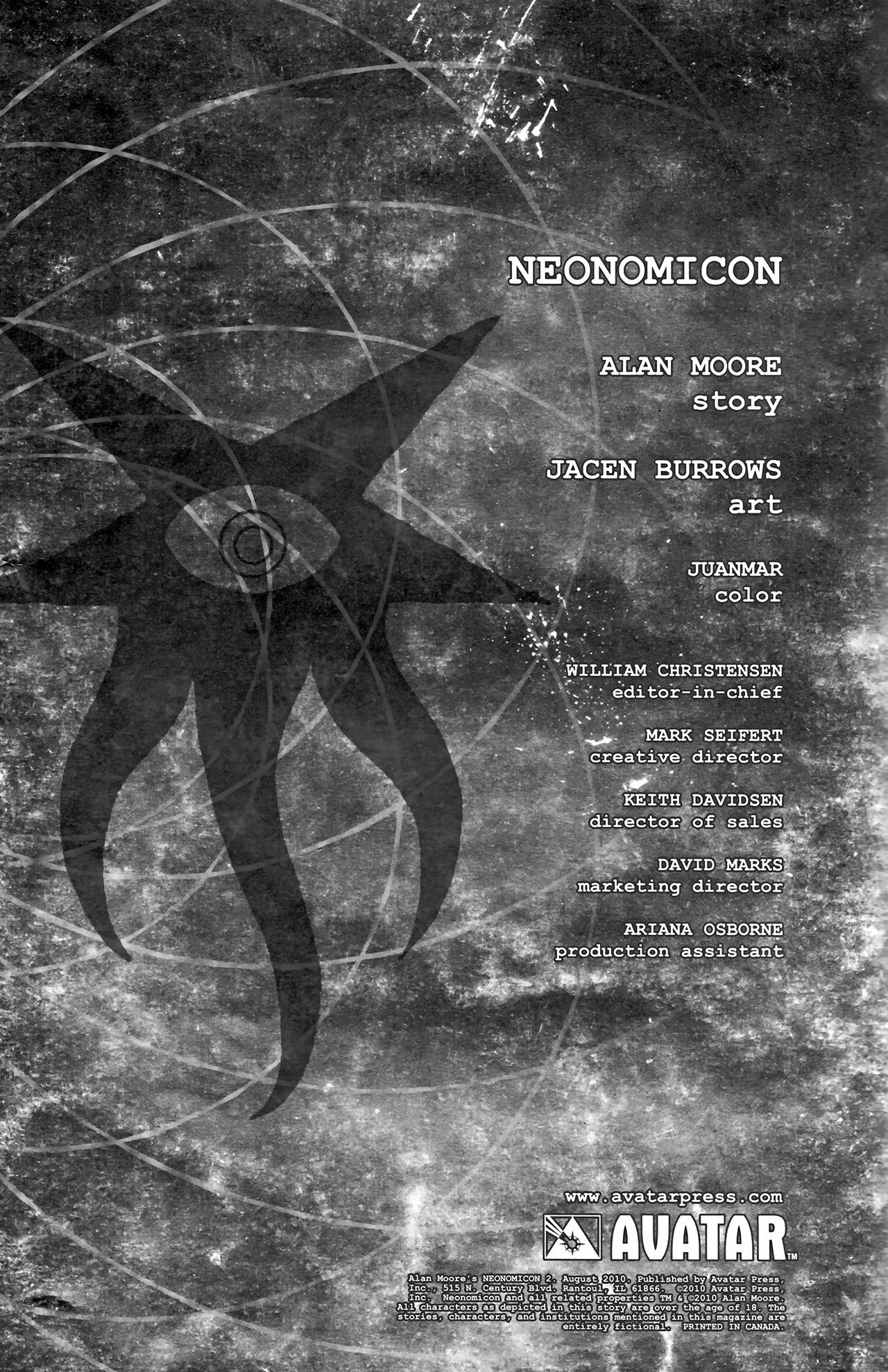 Read online Alan Moore's Neonomicon comic -  Issue #2 - 6