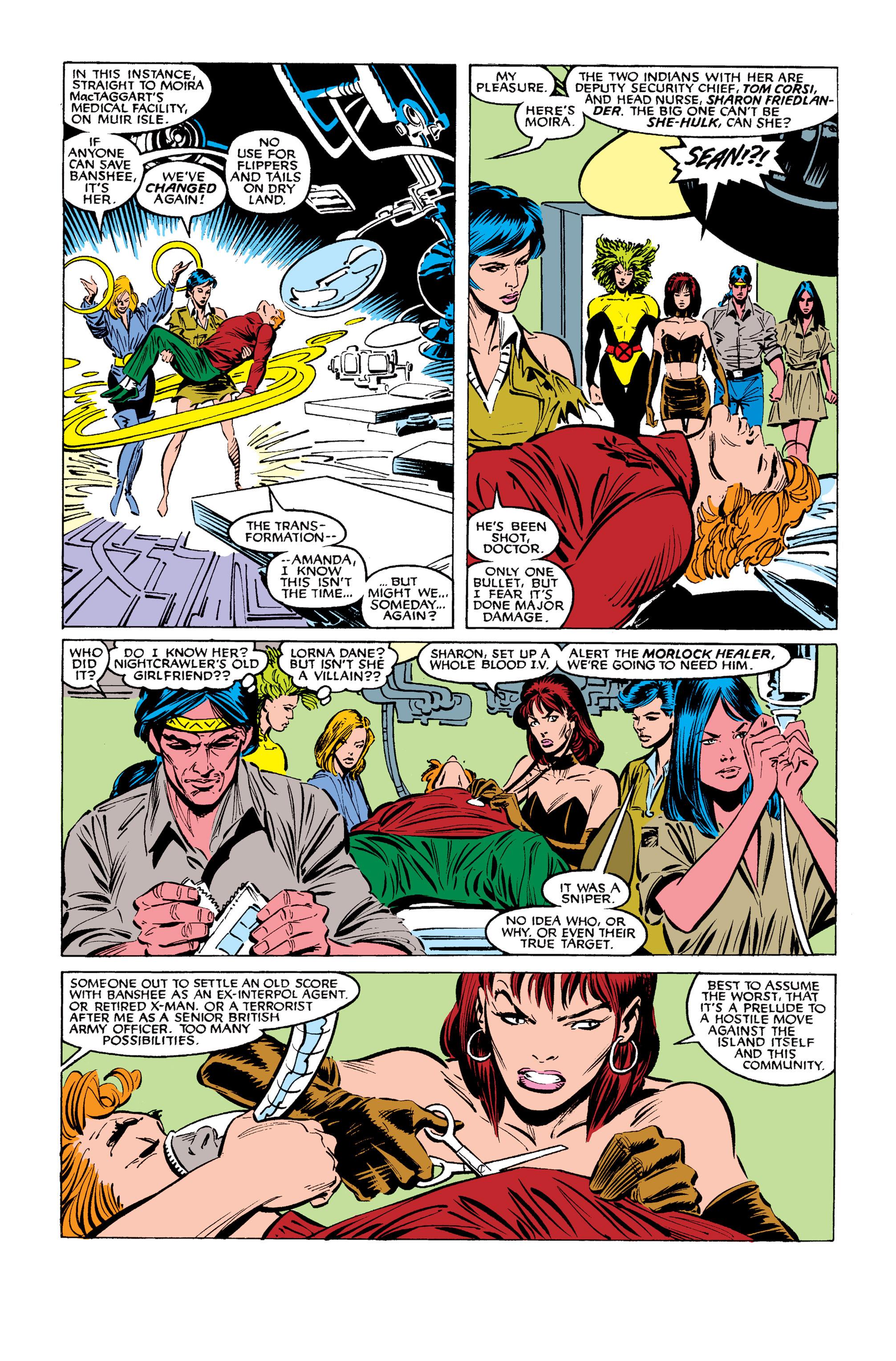 Read online Uncanny X-Men (1963) comic -  Issue #254 - 7