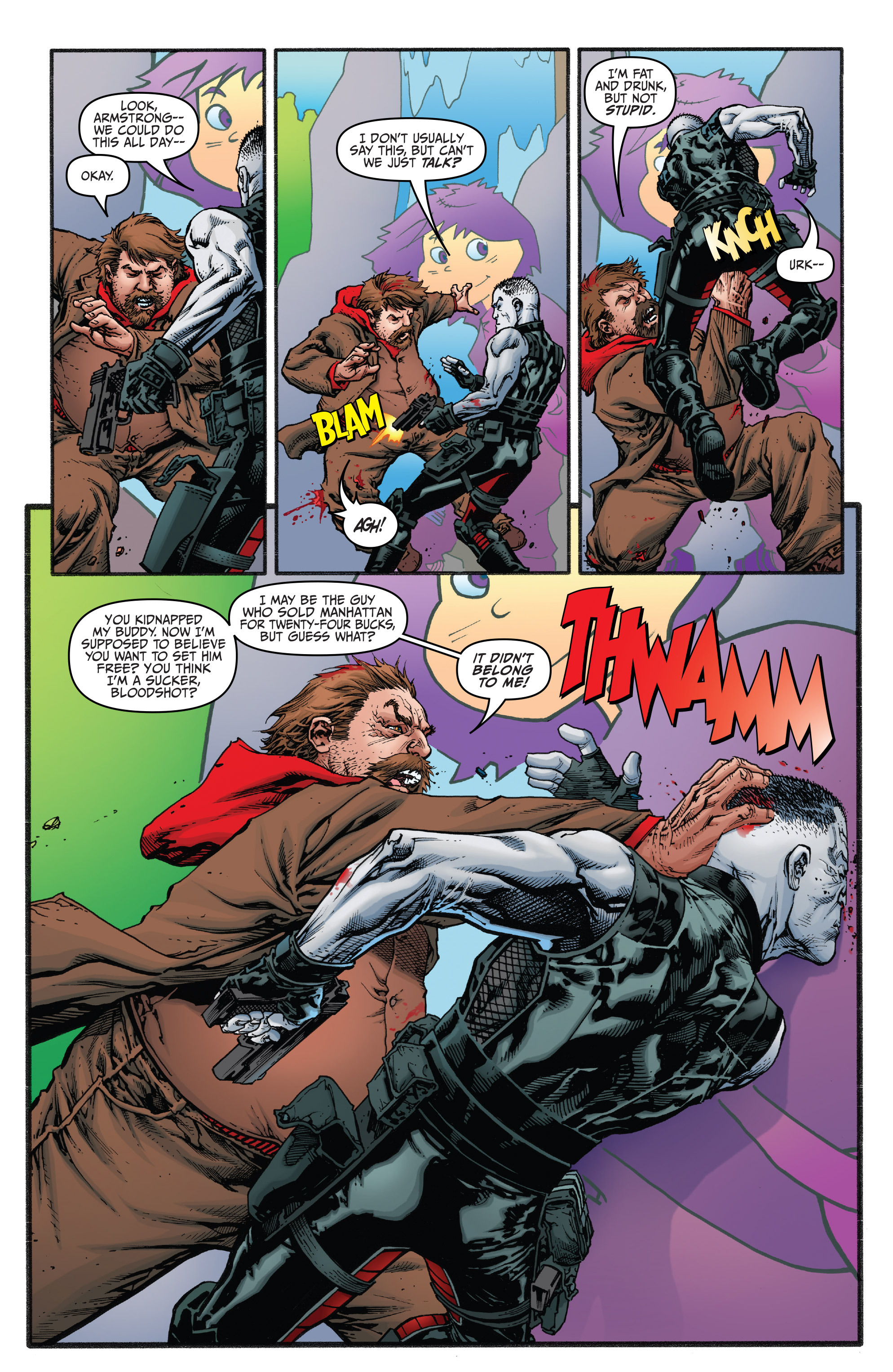 Read online Bloodshot and H.A.R.D.Corps comic -  Issue #21 - 5