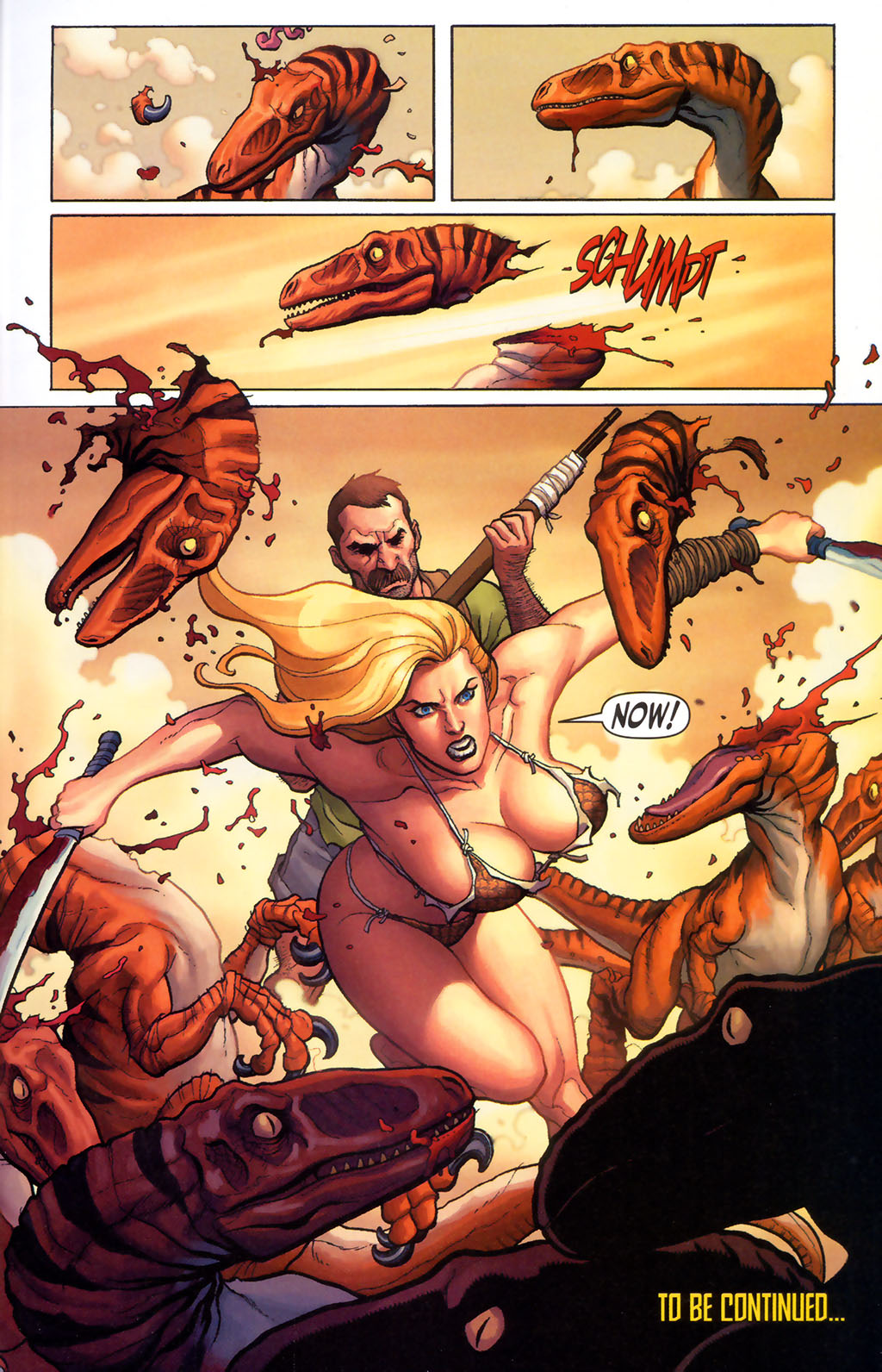 Read online Shanna, the She-Devil (2005) comic -  Issue #5 - 22