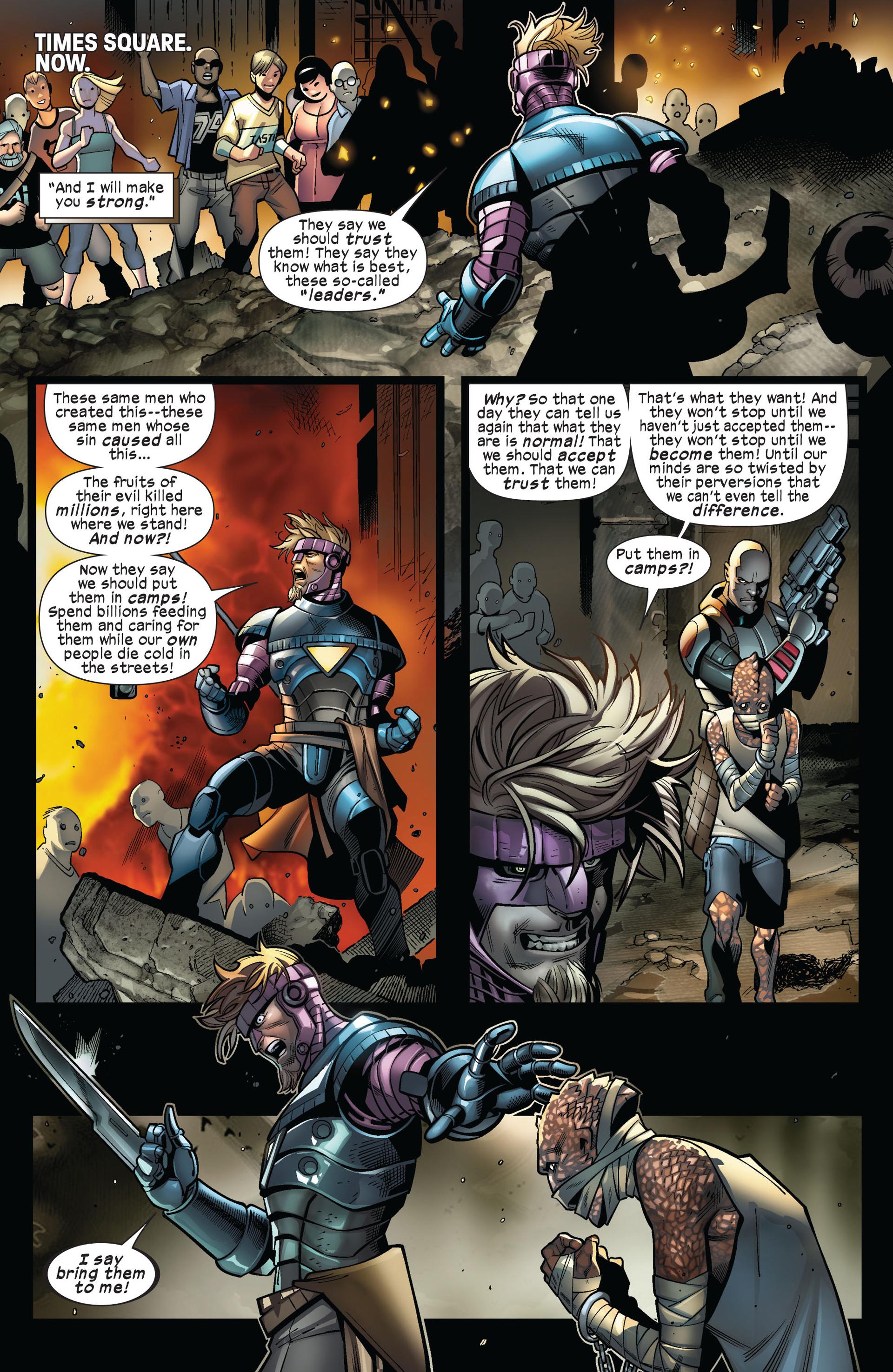Read online Ultimate Comics X-Men comic -  Issue #5 - 4