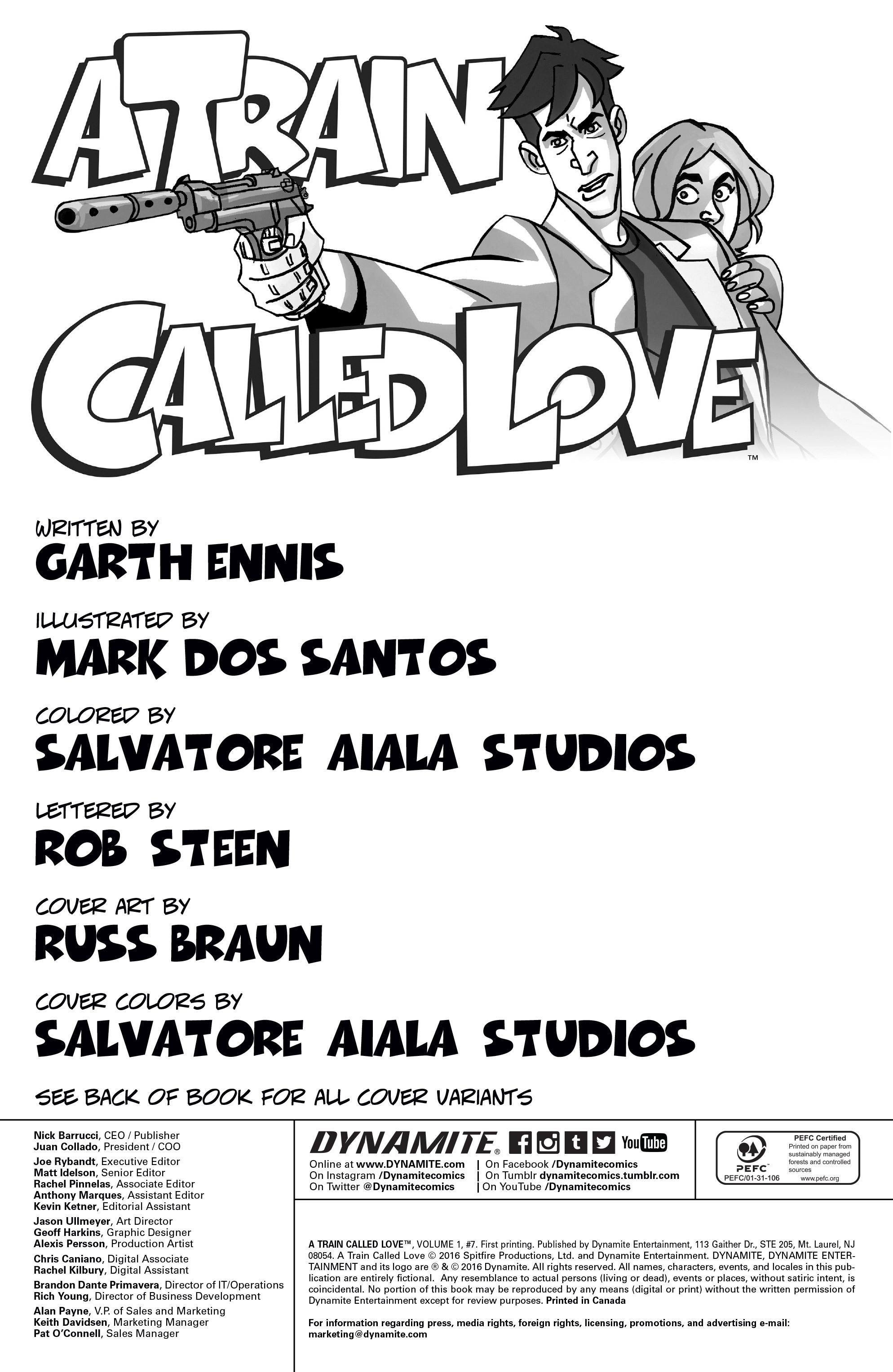 Read online A Train Called Love comic -  Issue #7 - 2