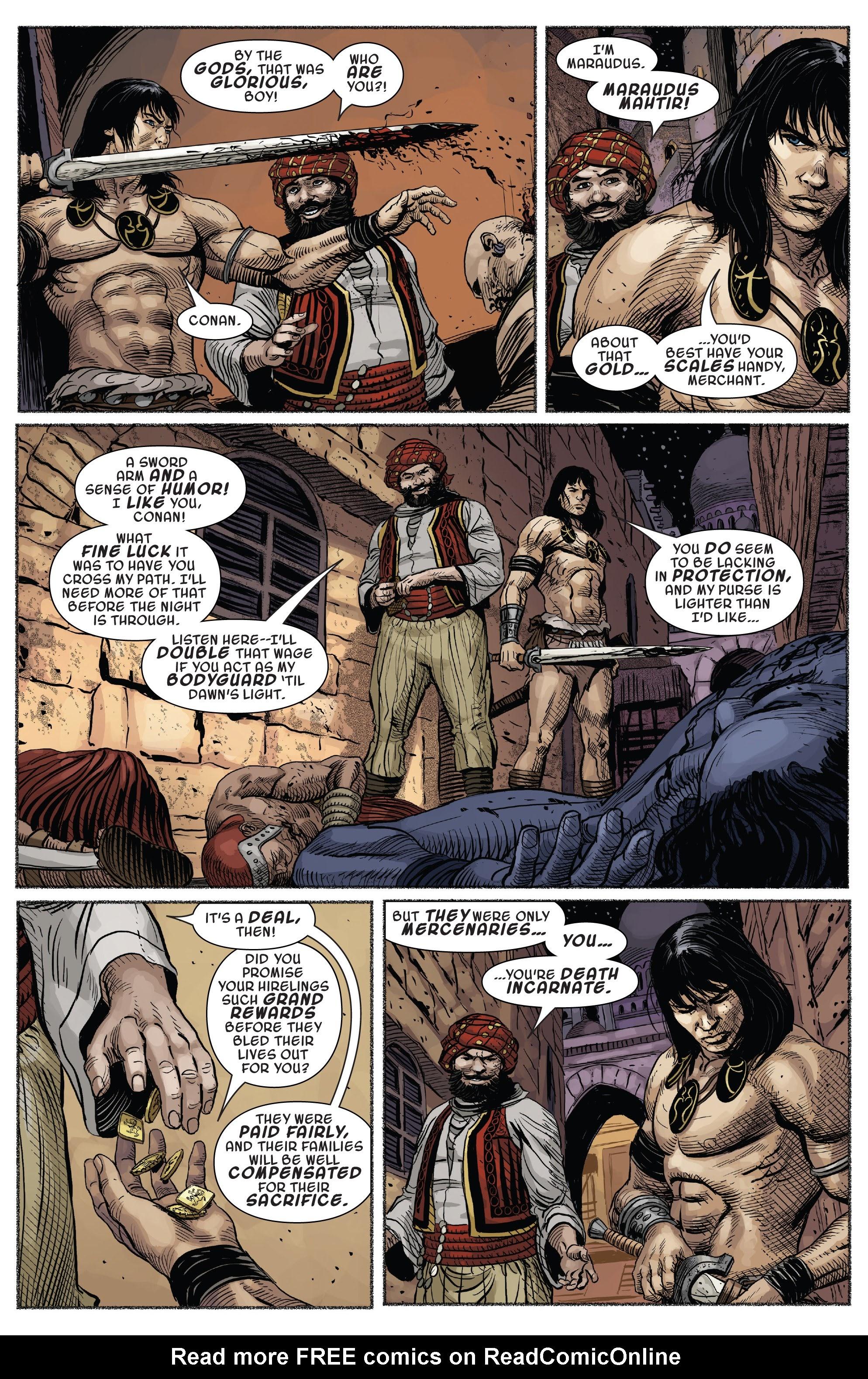 Read online Savage Sword of Conan comic -  Issue #7 - 8