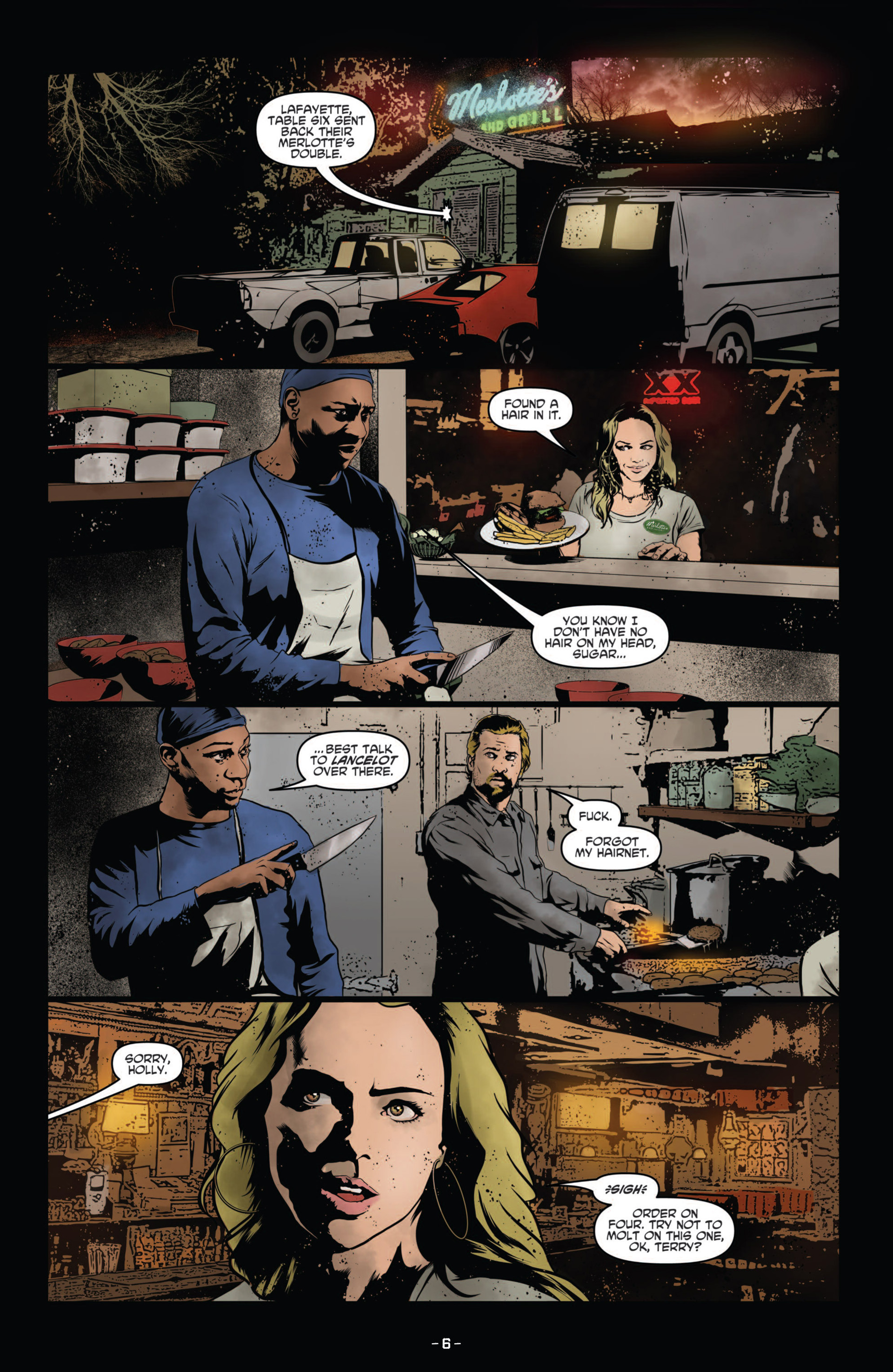 Read online True Blood (2012) comic -  Issue #11 - 9