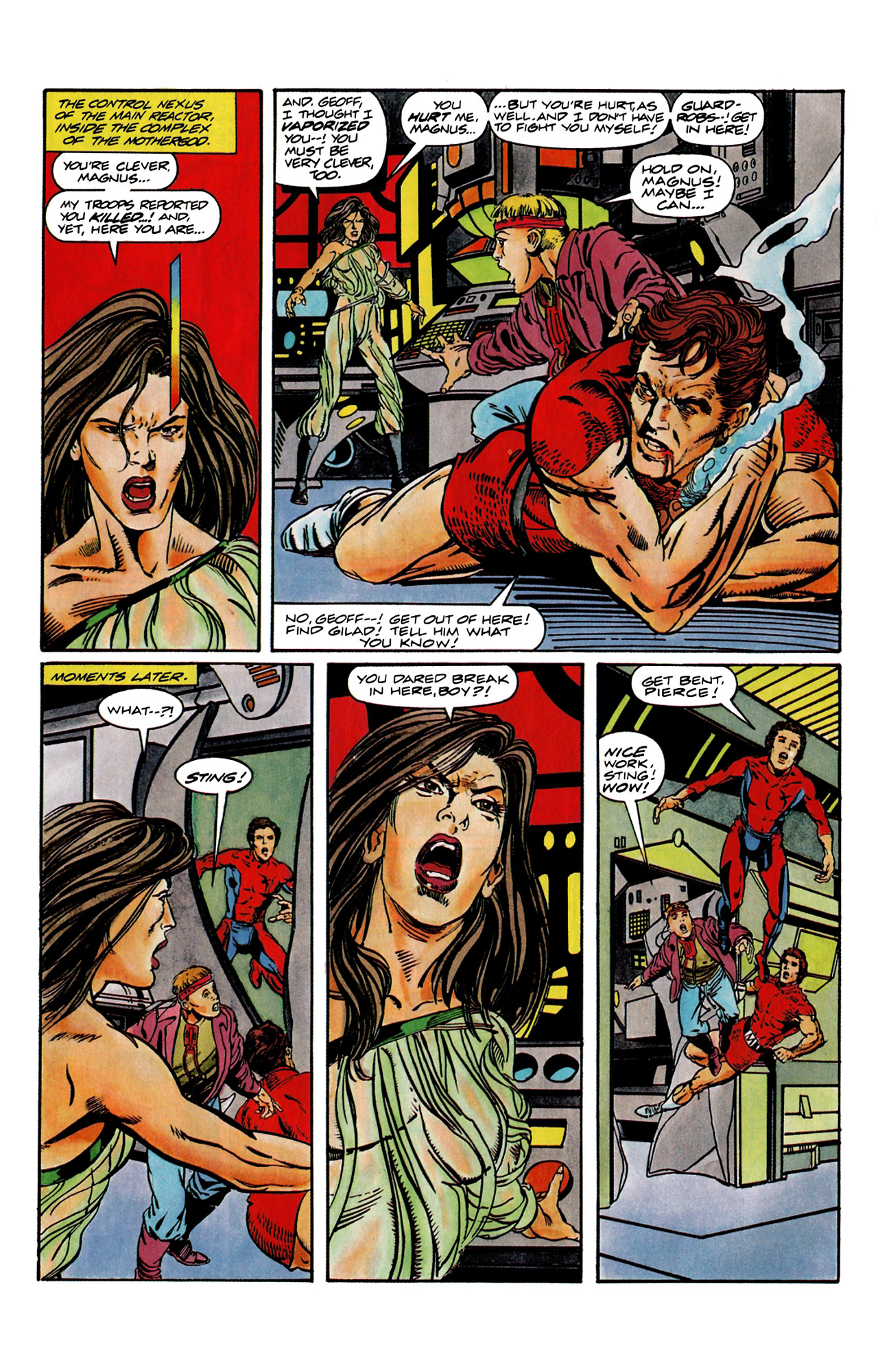 Read online Harbinger (1992) comic -  Issue #9 - 7