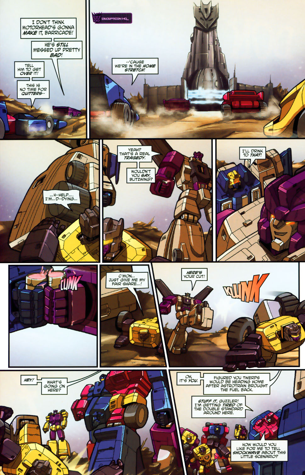 Read online Transformers: Micromasters comic -  Issue #1 - 16