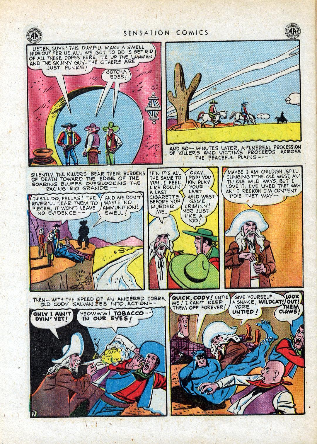 Read online Sensation (Mystery) Comics comic -  Issue #41 - 48