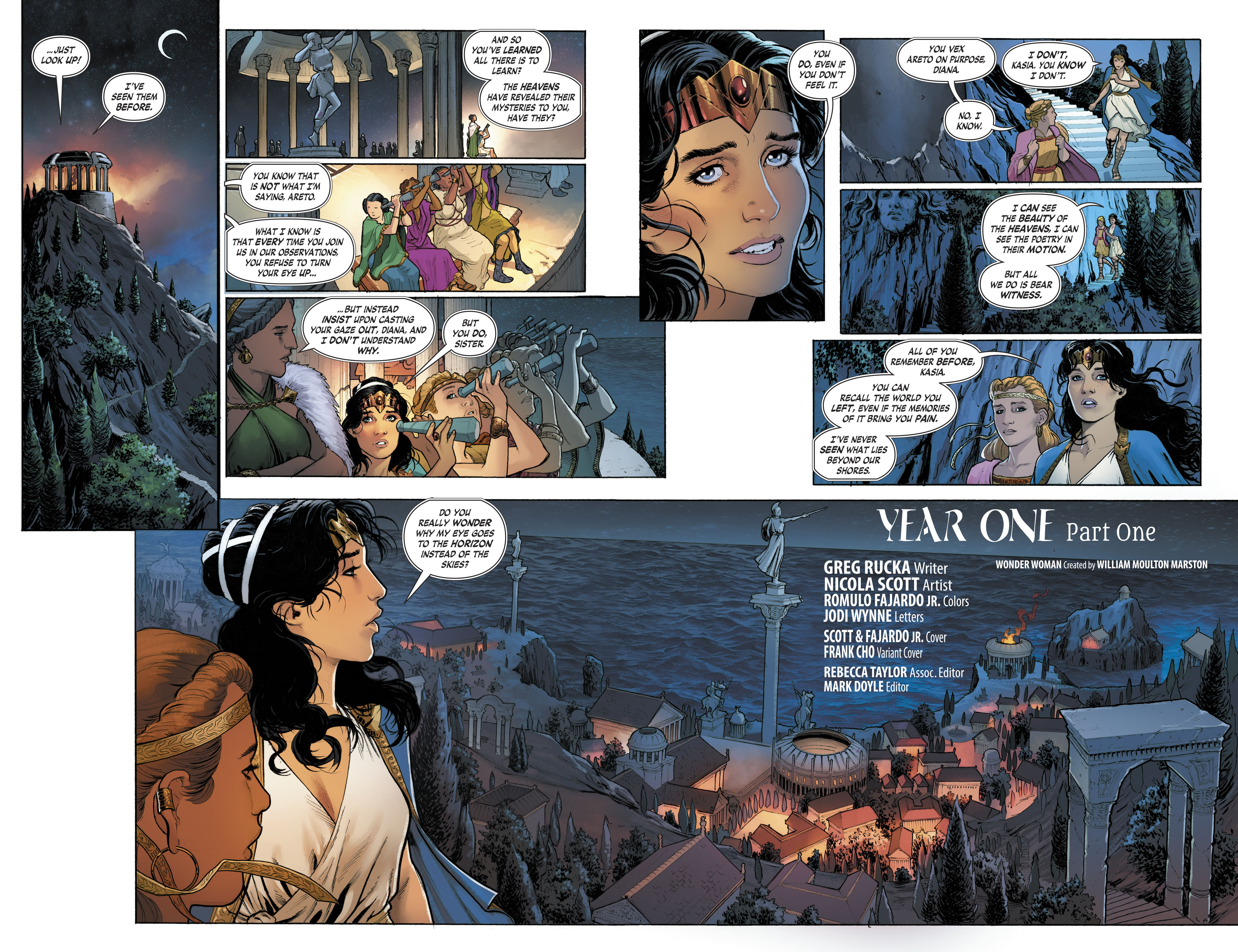 Read online Free Comic Book Day 2017 comic -  Issue # Wonder Woman - 4