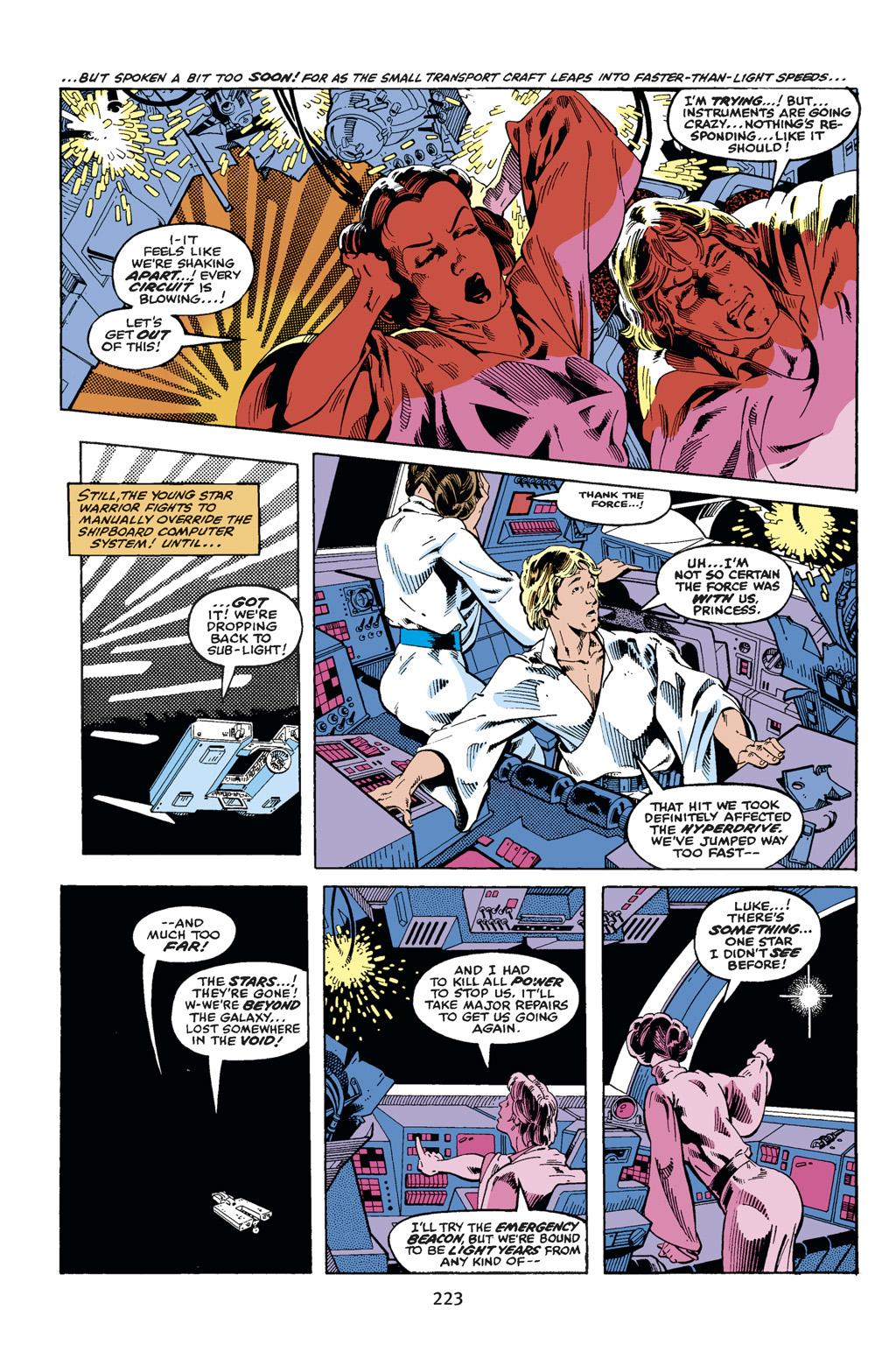 Read online Star Wars Omnibus comic -  Issue # Vol. 14 - 221