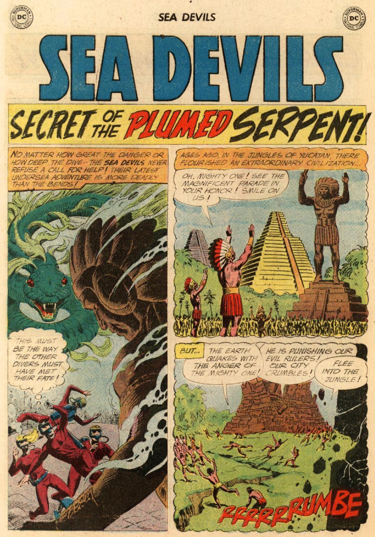 Read online Sea Devils comic -  Issue #5 - 29