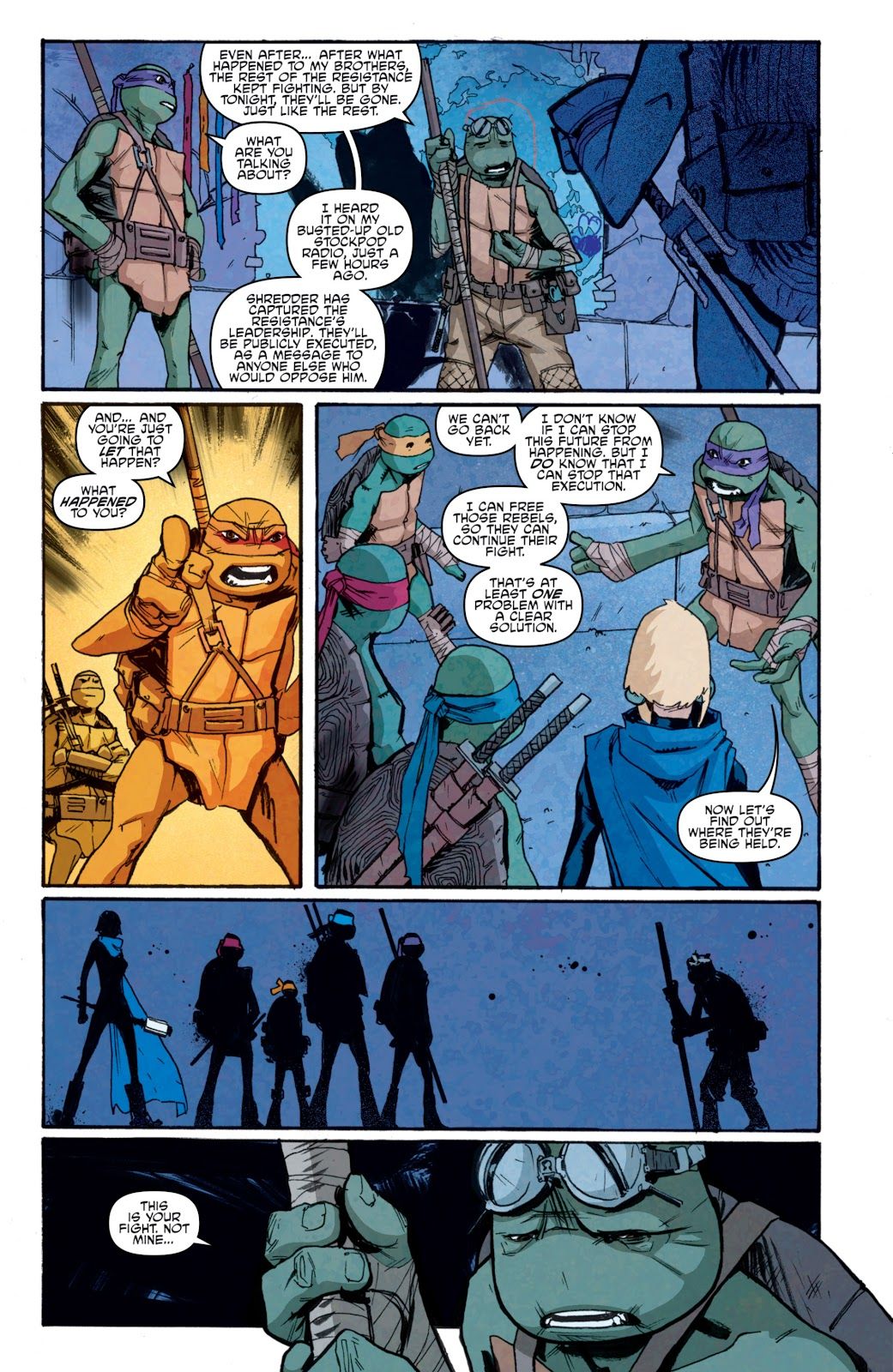 Read online Teenage Mutant Ninja Turtles: The IDW Collection comic -  Issue # TPB 5 (Part 1) - 85