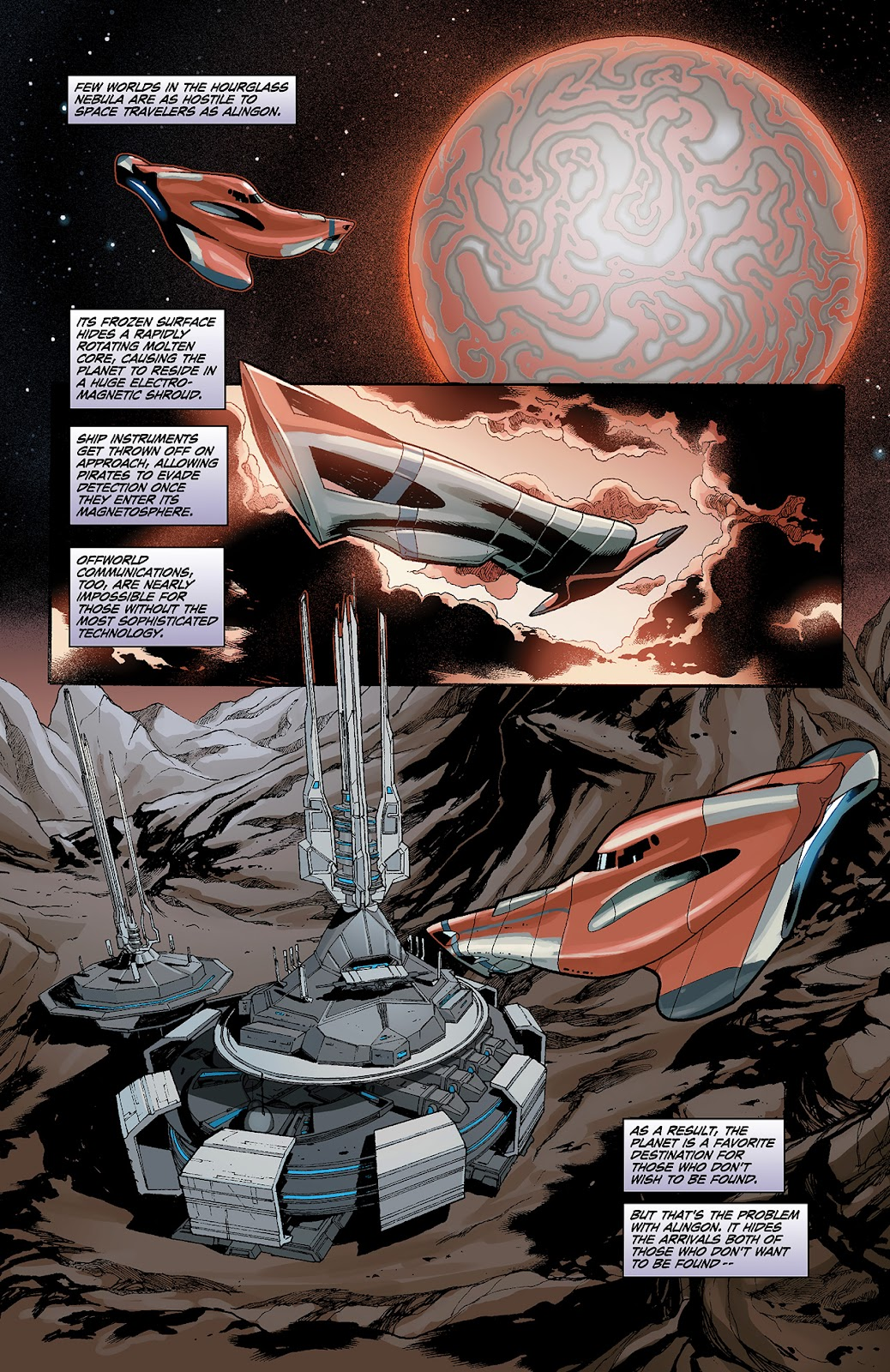 Mass Effect: Redemption Issue #3 #3 - English 12