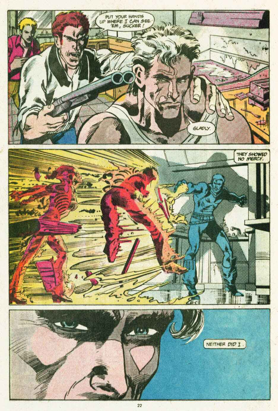 Read online Justice (1986) comic -  Issue #12 - 23