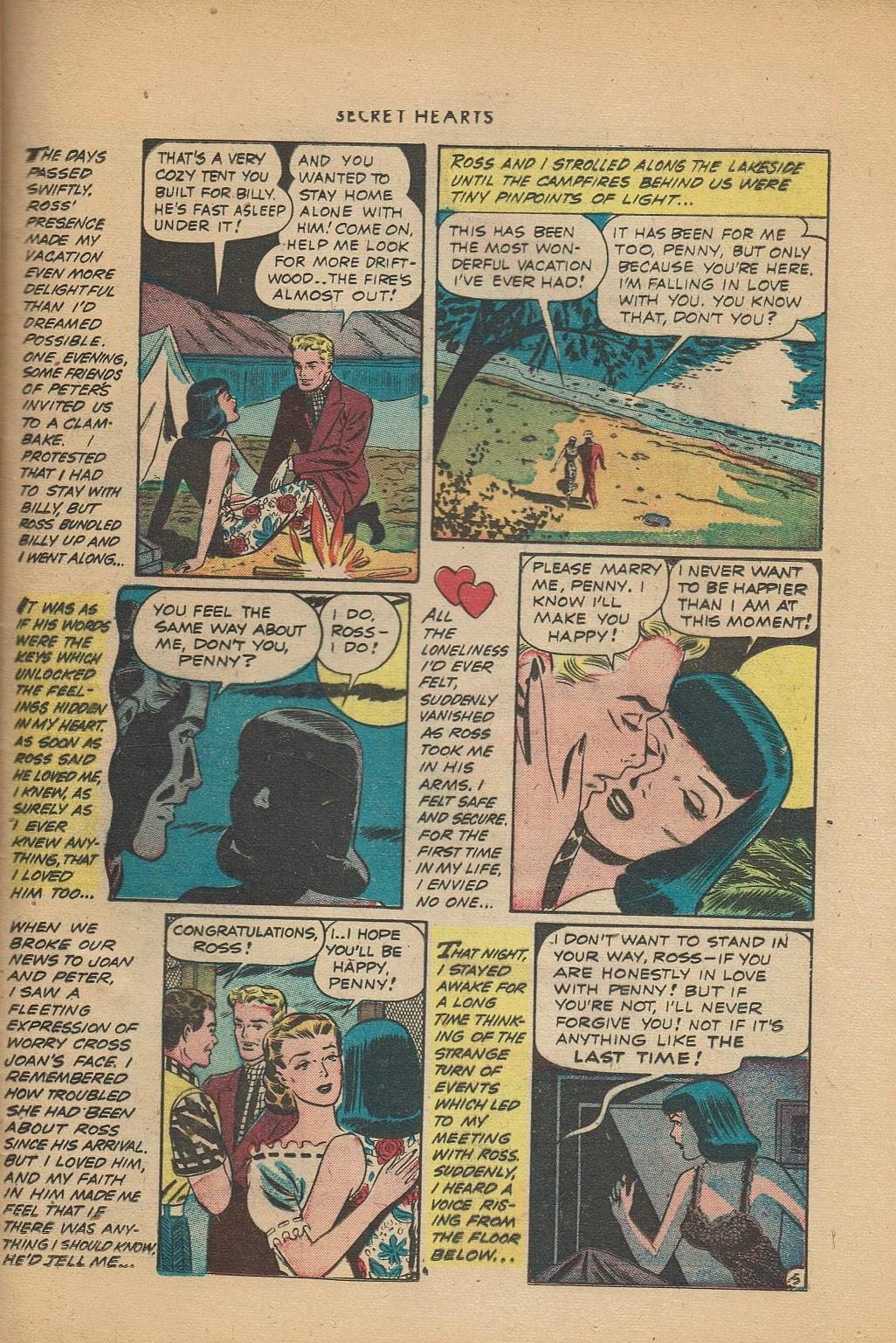 Read online Secret Hearts comic -  Issue #2 - 29