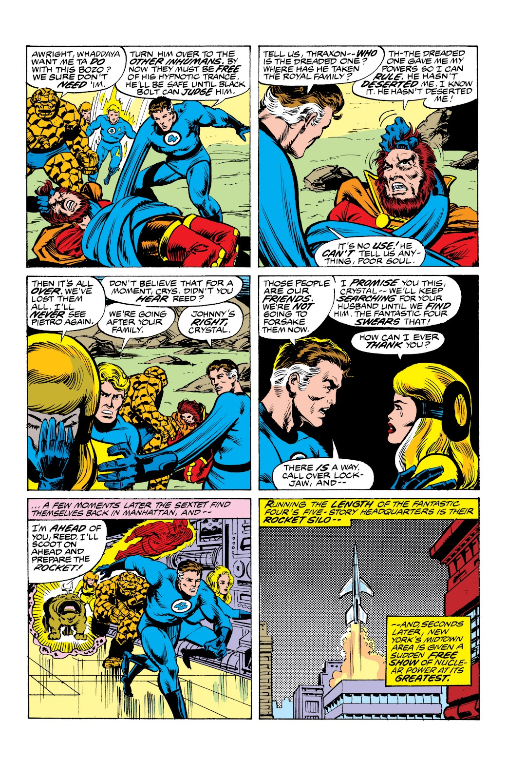 Read online Marvel Masterworks: The Inhumans comic -  Issue # TPB 2 (Part 3) - 66
