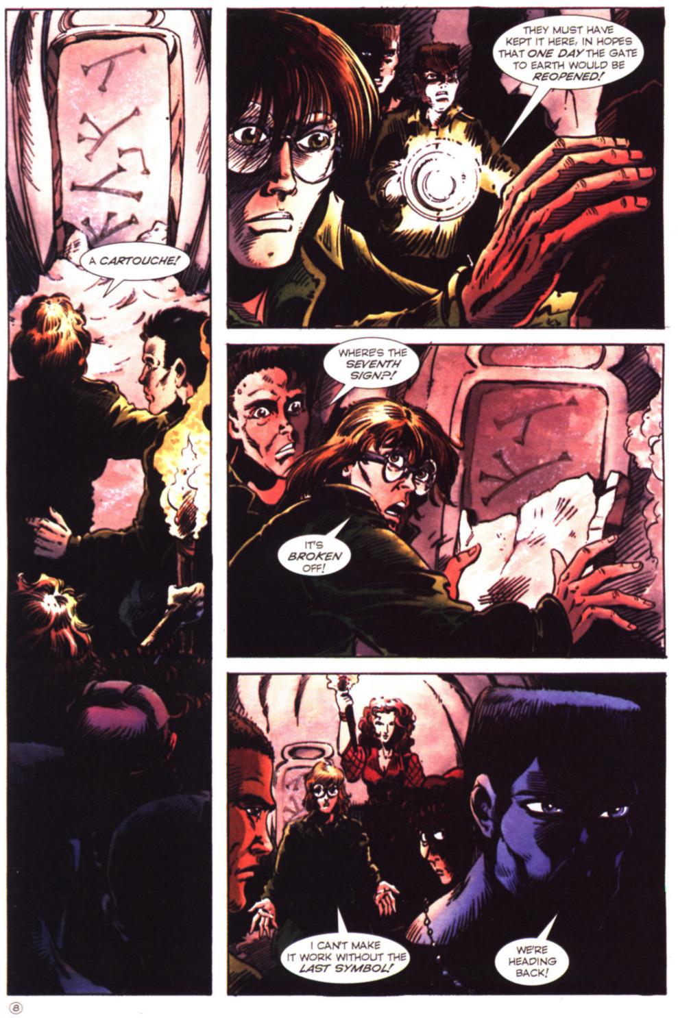 Read online Stargate comic -  Issue #2 - 10