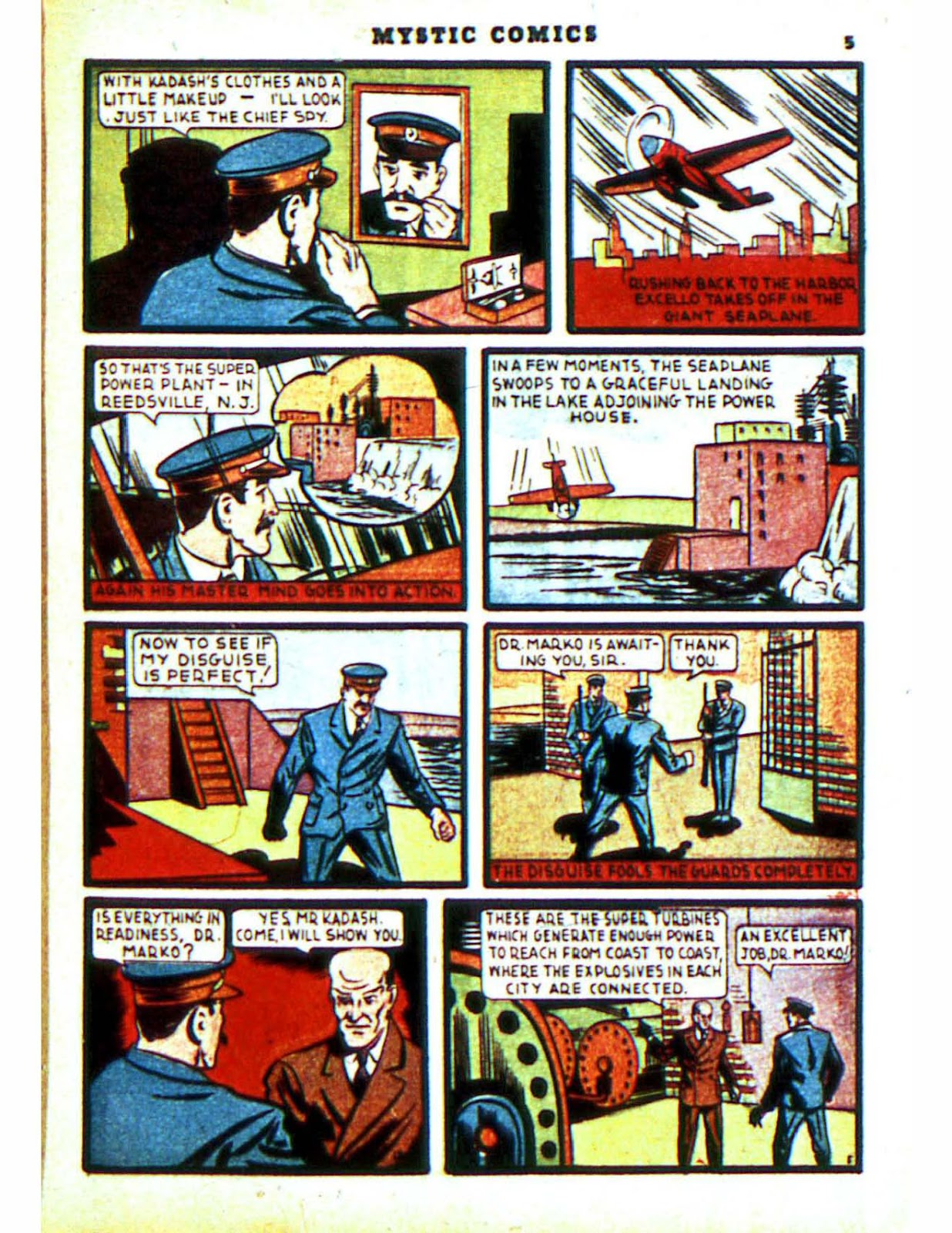 Mystic Comics (1940) issue 2 - Page 7
