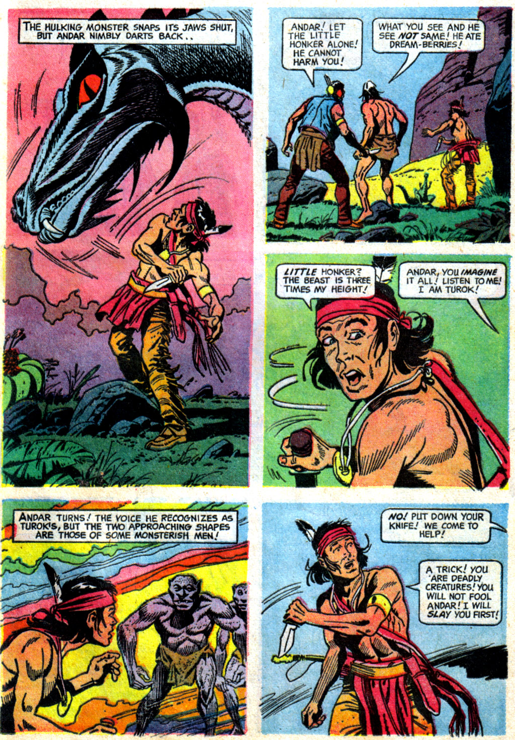 Read online Turok, Son of Stone comic -  Issue #62 - 25