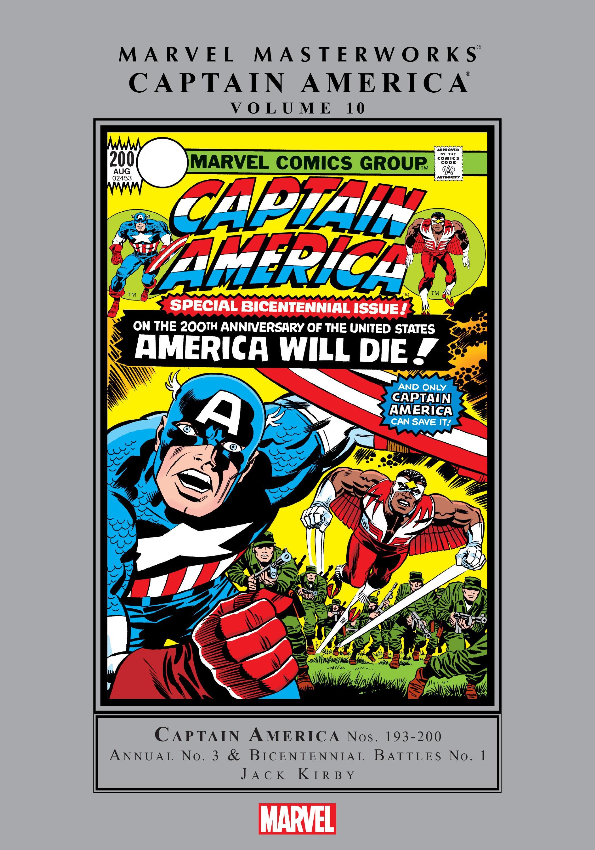 Marvel Masterworks: Captain America TPB_10_(Part_1) Page 1
