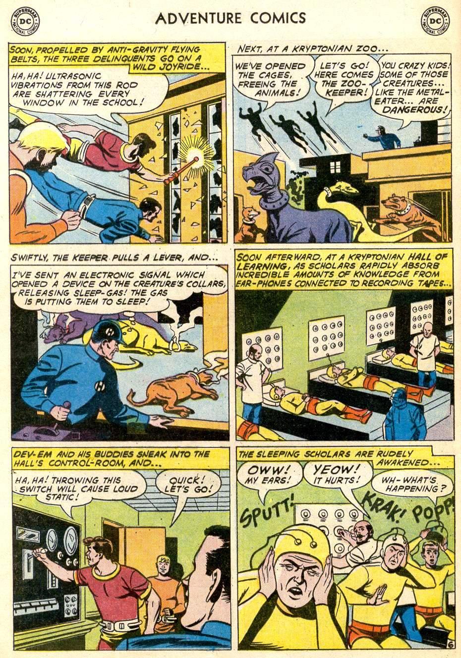Read online Adventure Comics (1938) comic -  Issue #287 - 8