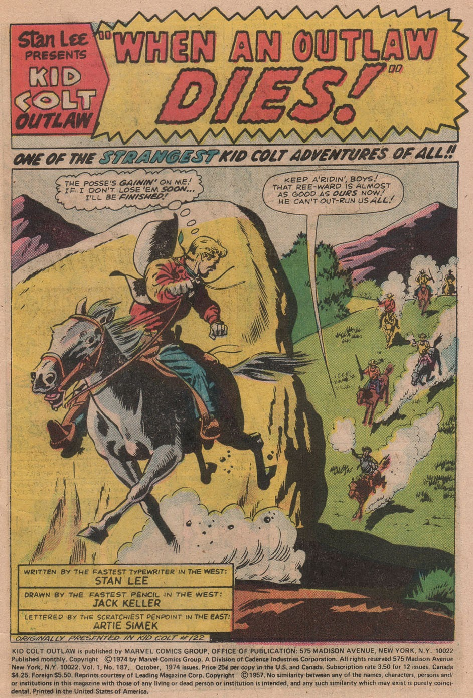 Kid Colt Outlaw issue 187 - Page 3