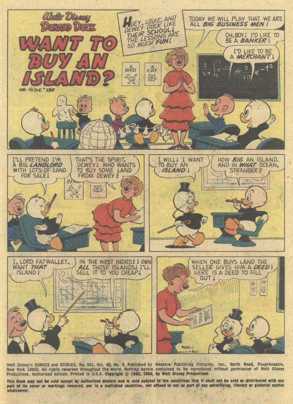 Walt Disney's Comics and Stories issue 501 - Page 3