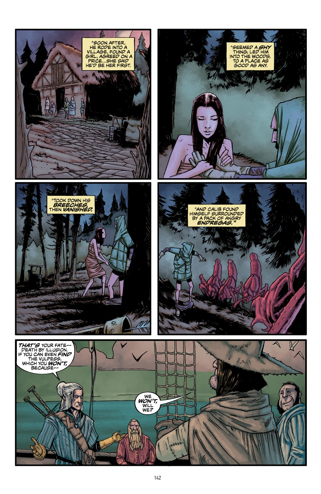 Read online The Witcher Omnibus comic -  Issue # TPB (Part 2) - 44
