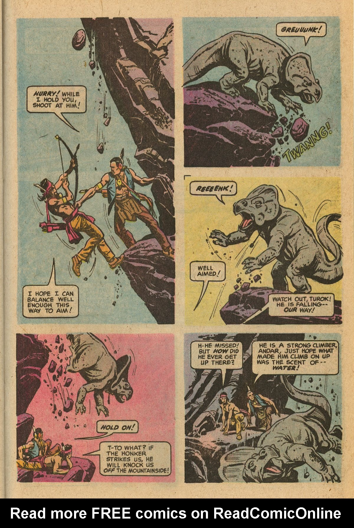 Read online Turok, Son of Stone comic -  Issue #115 - 33