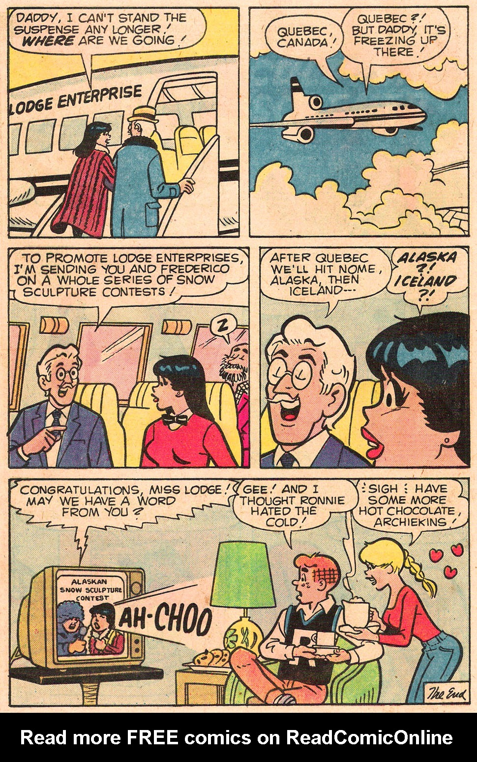 Read online Archie's Girls Betty and Veronica comic -  Issue #303 - 24