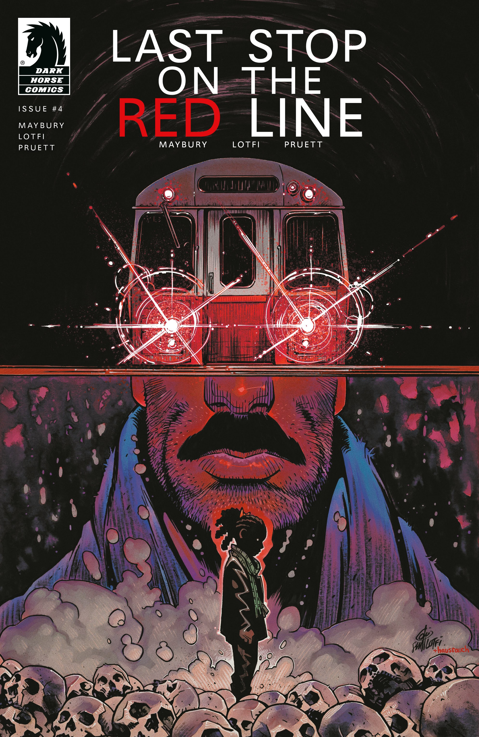 Last Stop On the Red Line 4 Page 1