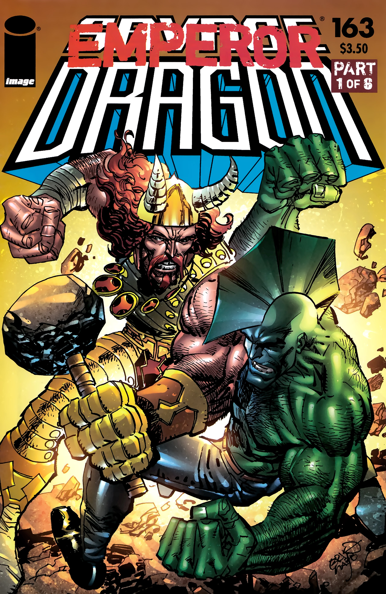 The Savage Dragon (1993) 163 Page 1