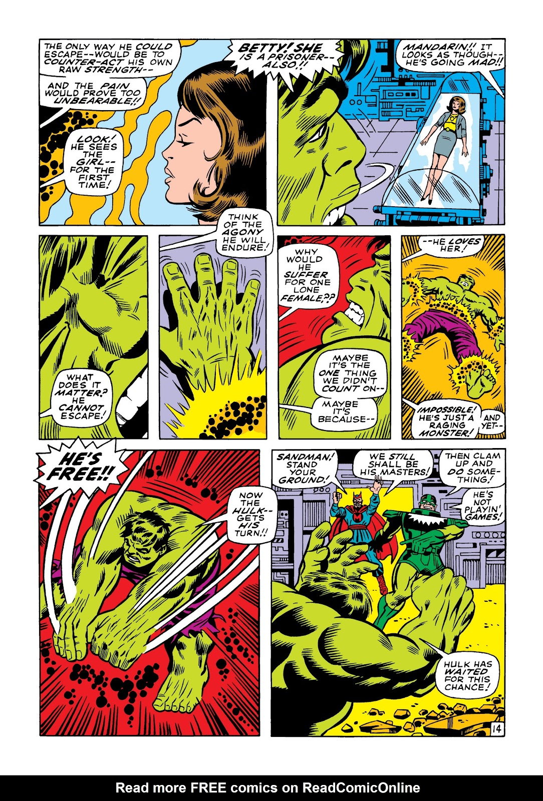 Read online Marvel Masterworks: The Incredible Hulk comic -  Issue # TPB 5 (Part 1) - 83