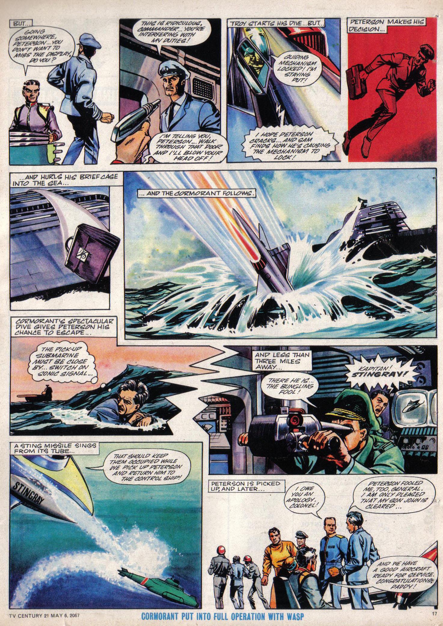 Read online TV Century 21 (TV 21) comic -  Issue #120 - 16